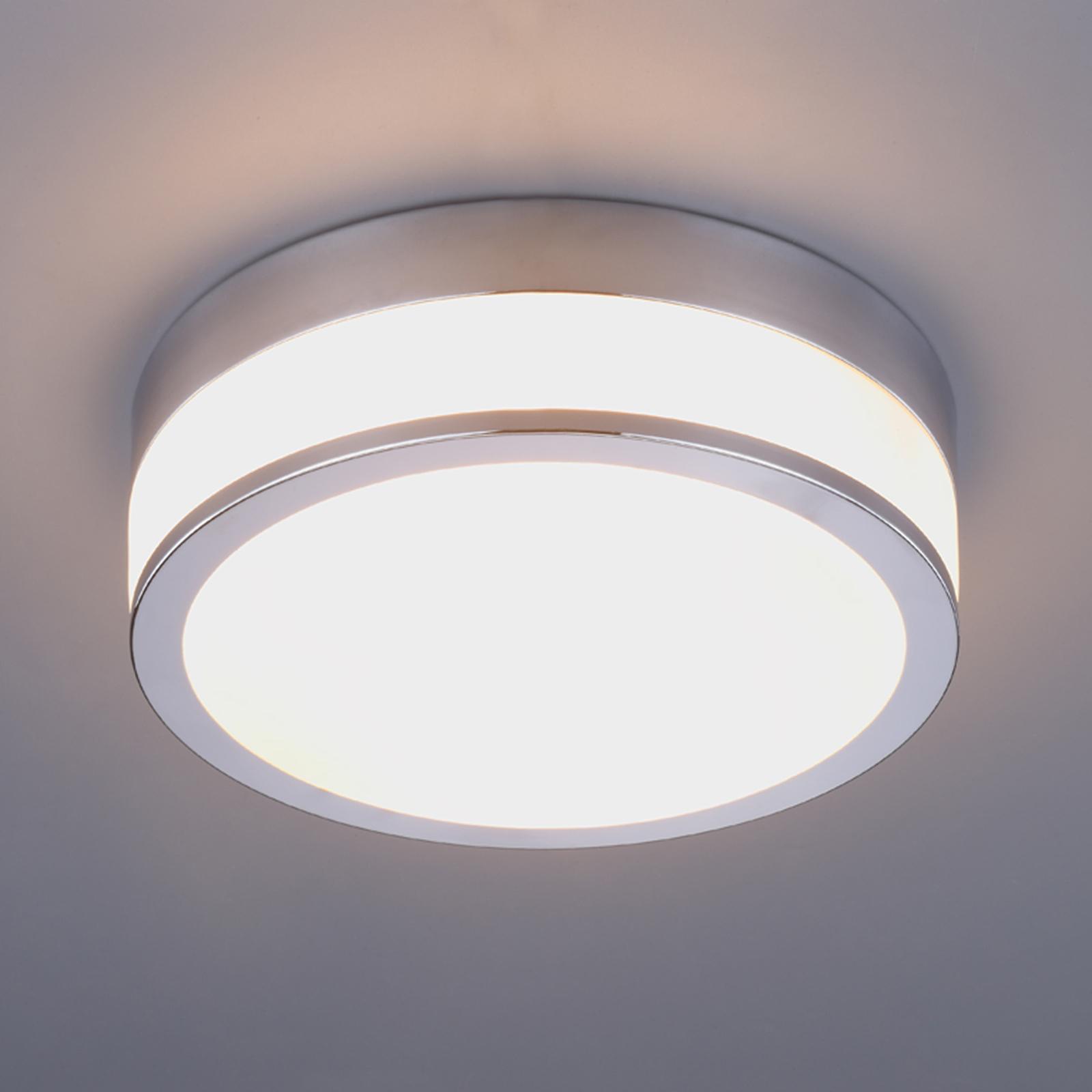 Deckenleuchte Flavi Chrom Badezimmerlampe Lampenwelt Bad Deckenlampe IP44