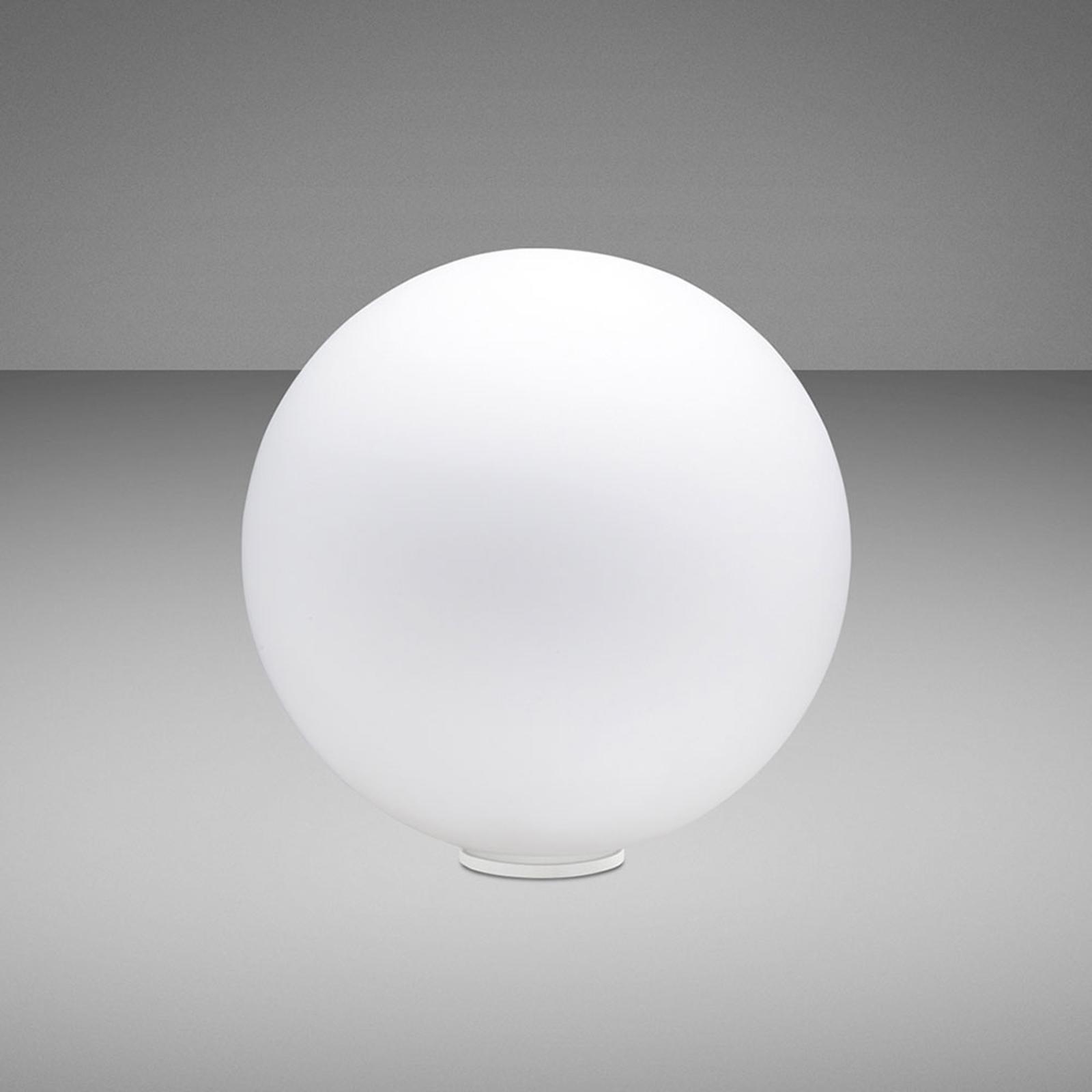Fabbian Lumi Sfera tafellamp, liggend, Ø 20 cm