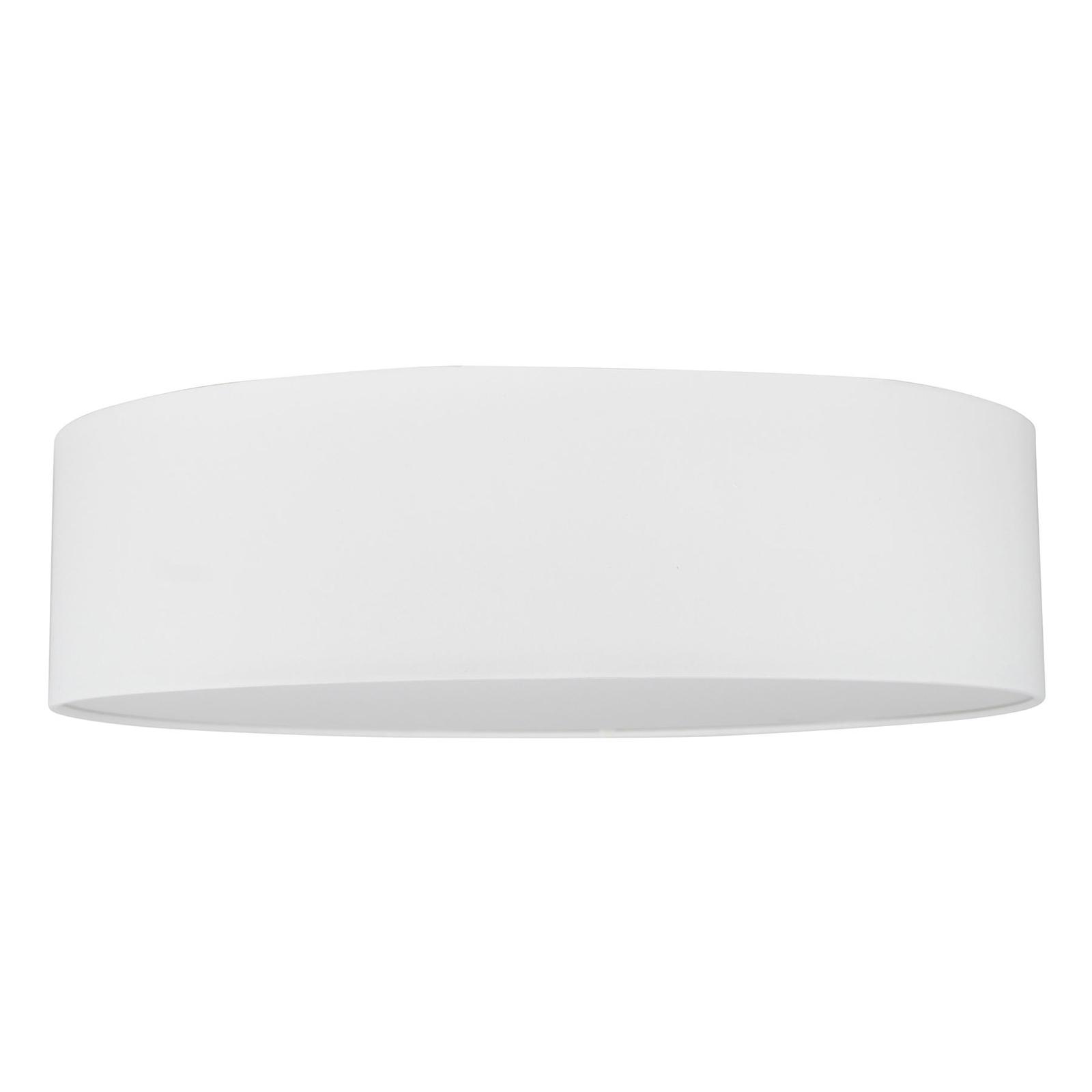 LED-taklampe Josefina, Ø 48 cm, hvit