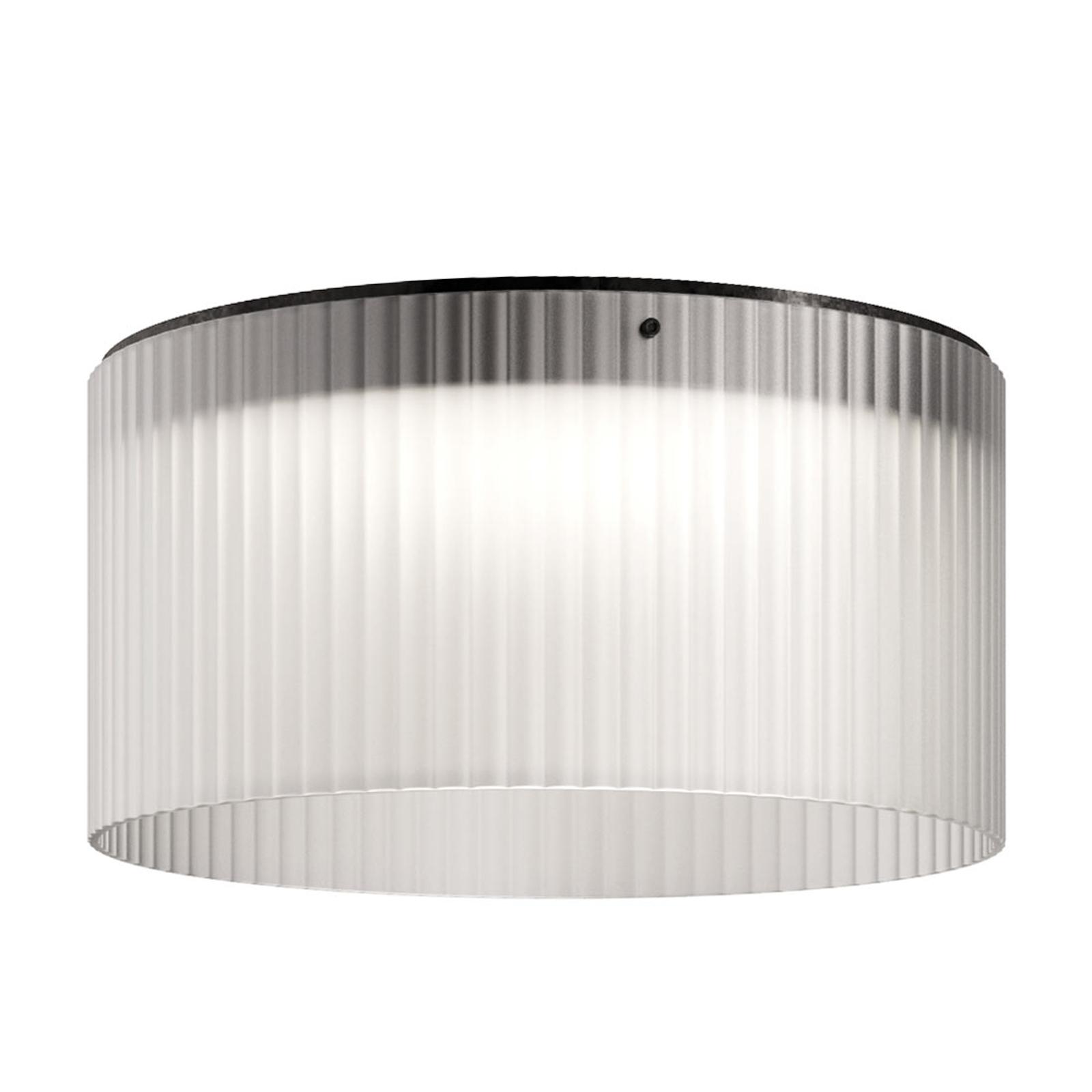 Kundalini Giass - LED-taklampe, Ø 50 cm, hvit