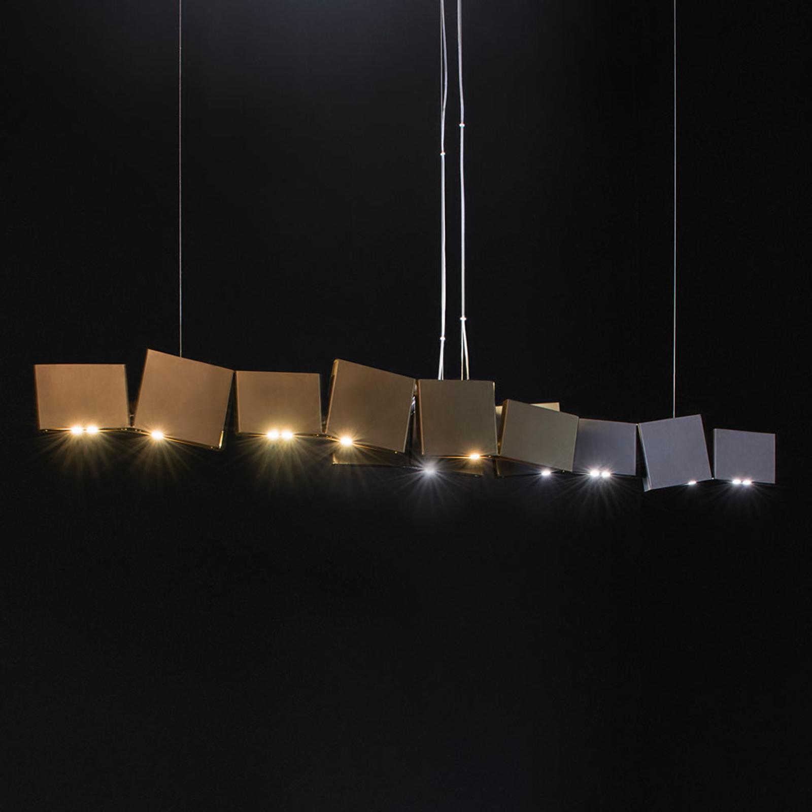 Terzani Gaia LED-hængelampe, 24 lyskilder