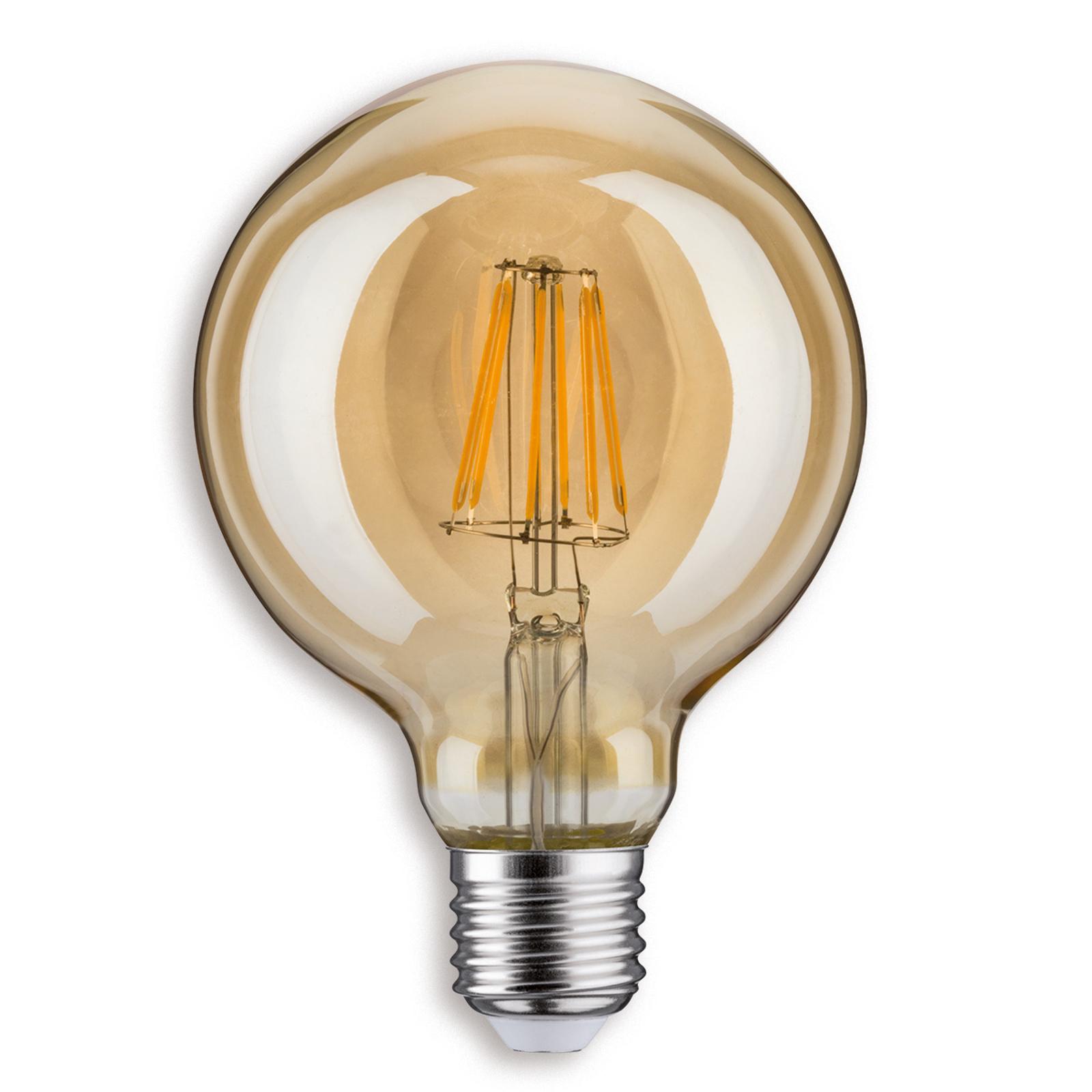 Paulmann E27 6,5W 825 LED-Globelampe G95 gold
