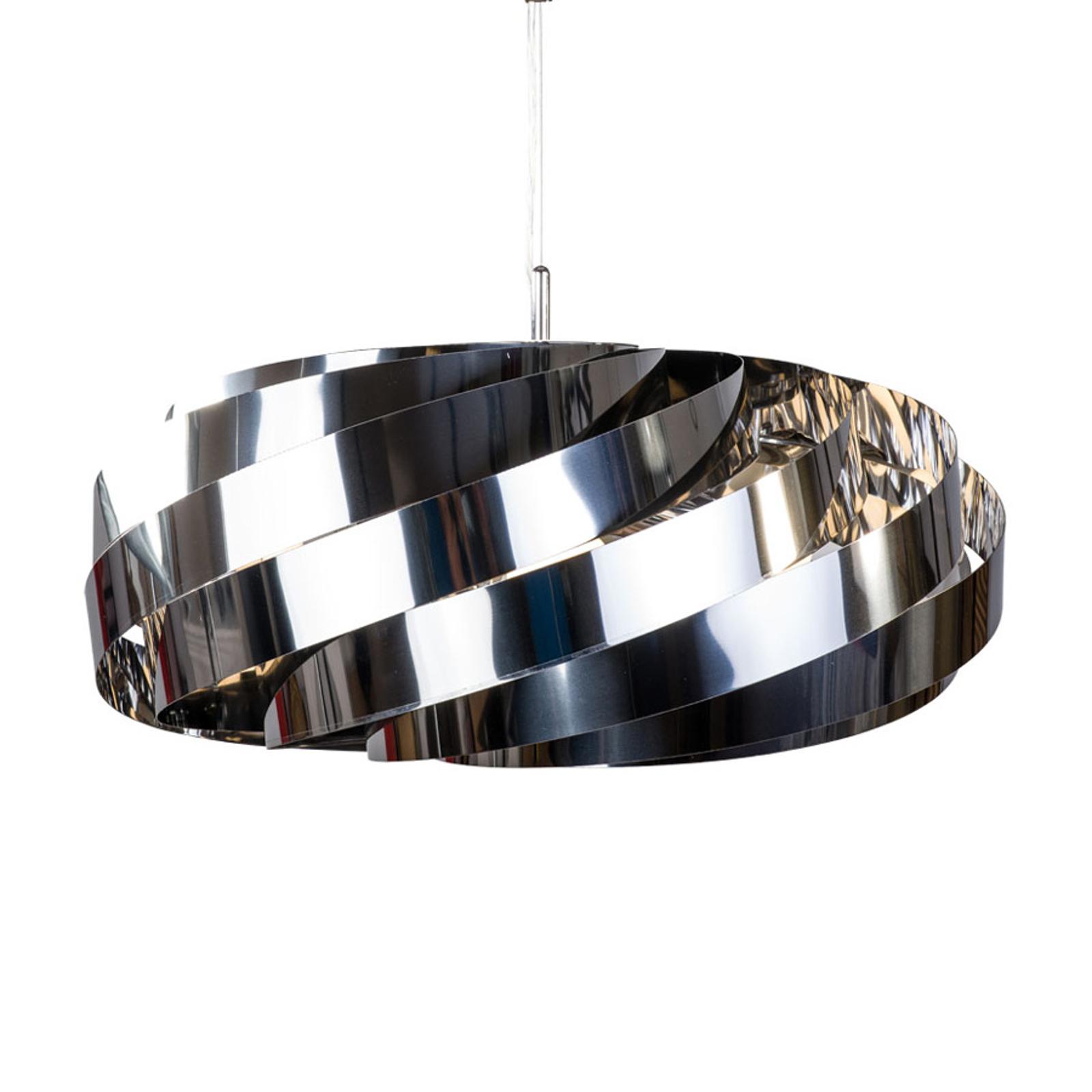 Lampa wisząca Vento chromowo-niklowa Ø 60 cm