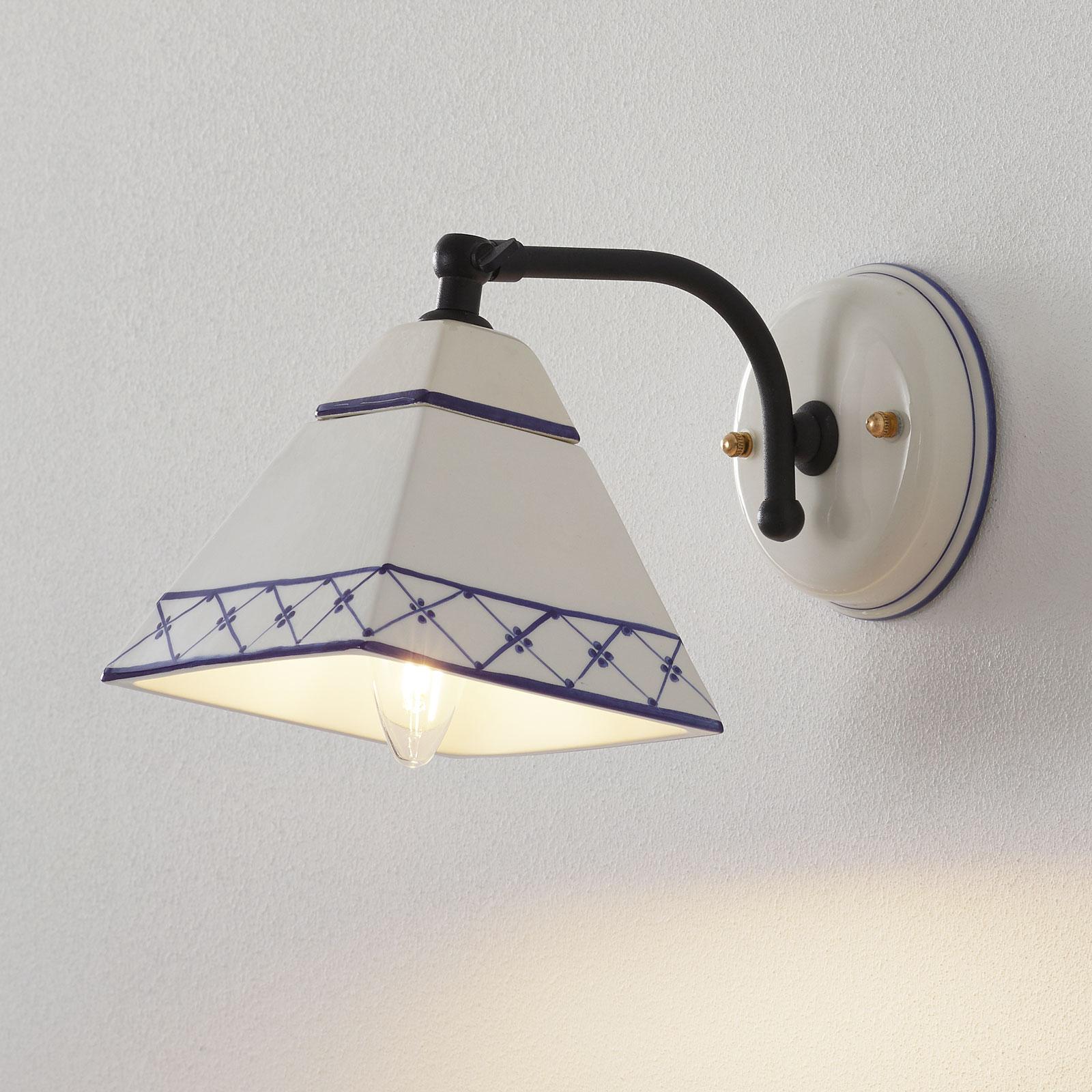 Lampa ścienna MURANO w stylu rustykalnym