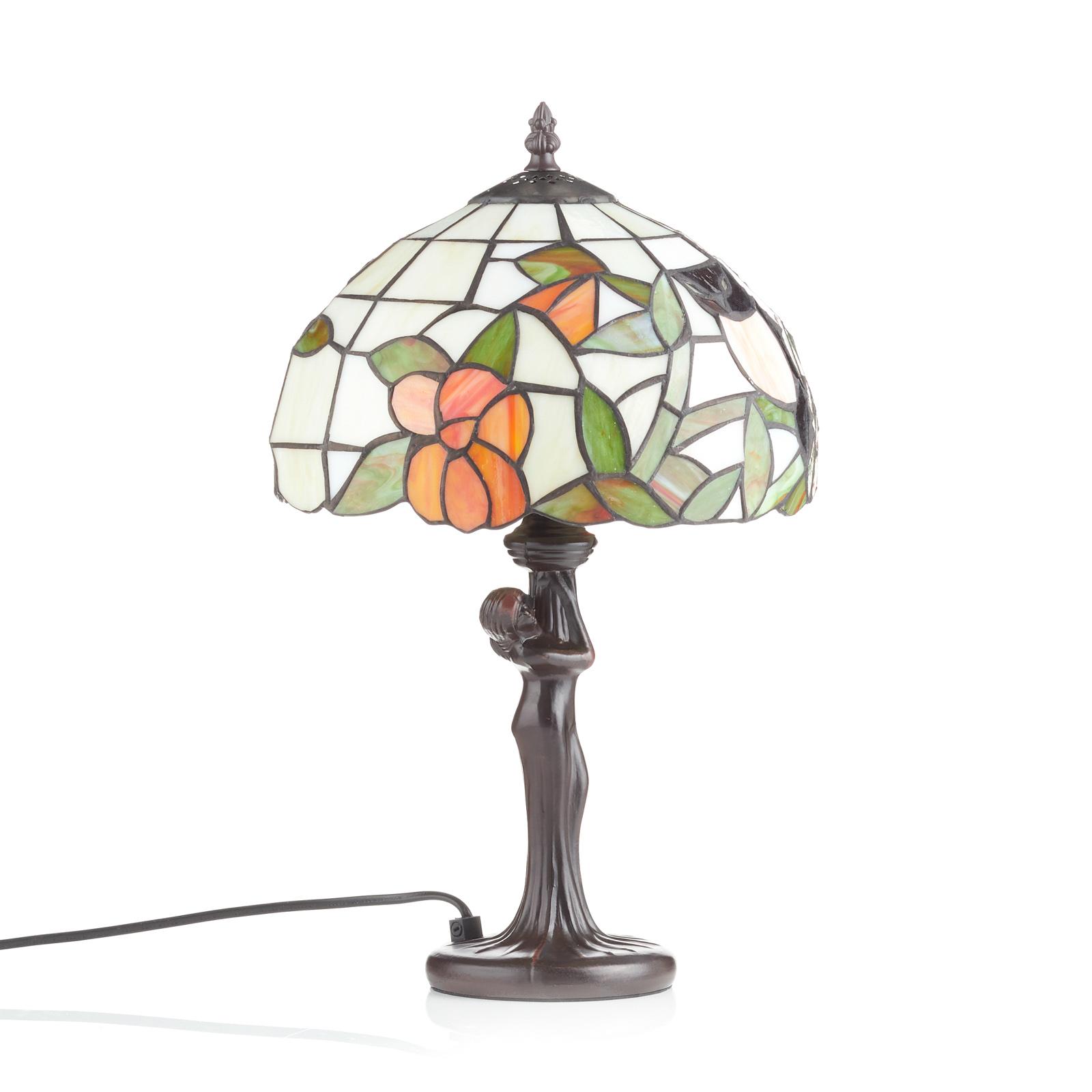 LIEKE - lámpara de mesa en estilo Tiffany