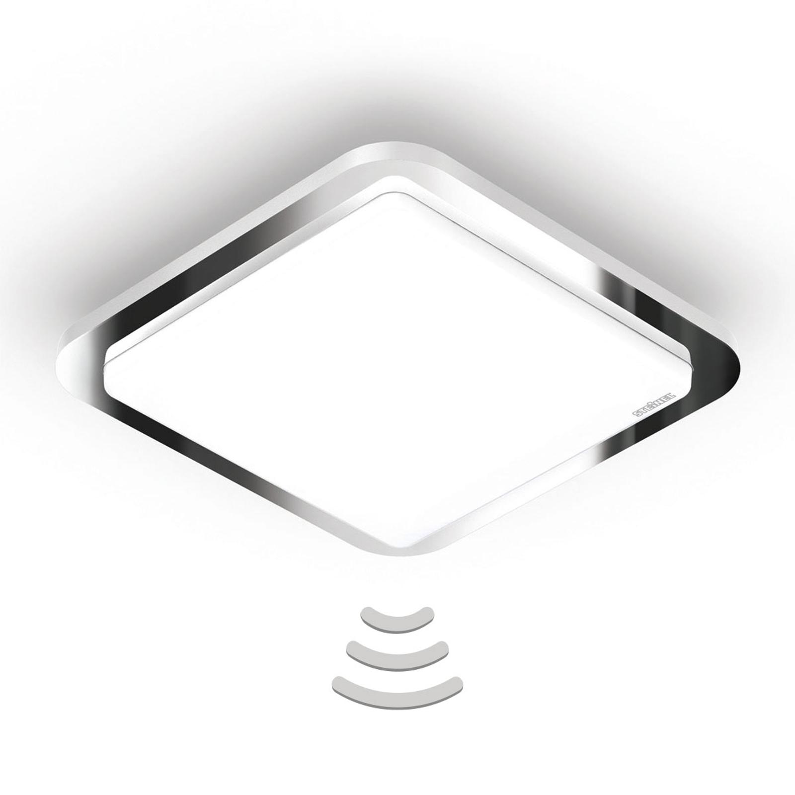 STEINEL RS D1 V3 LED-taklampe blank krom