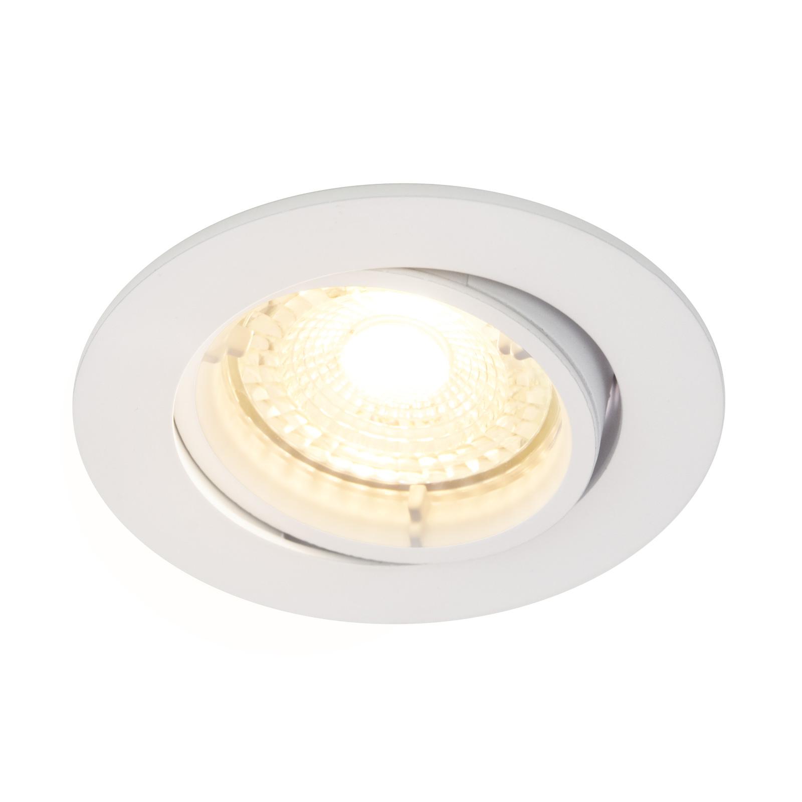 LED inbouwspot Carina 2.700K dim tilt 3-set wit