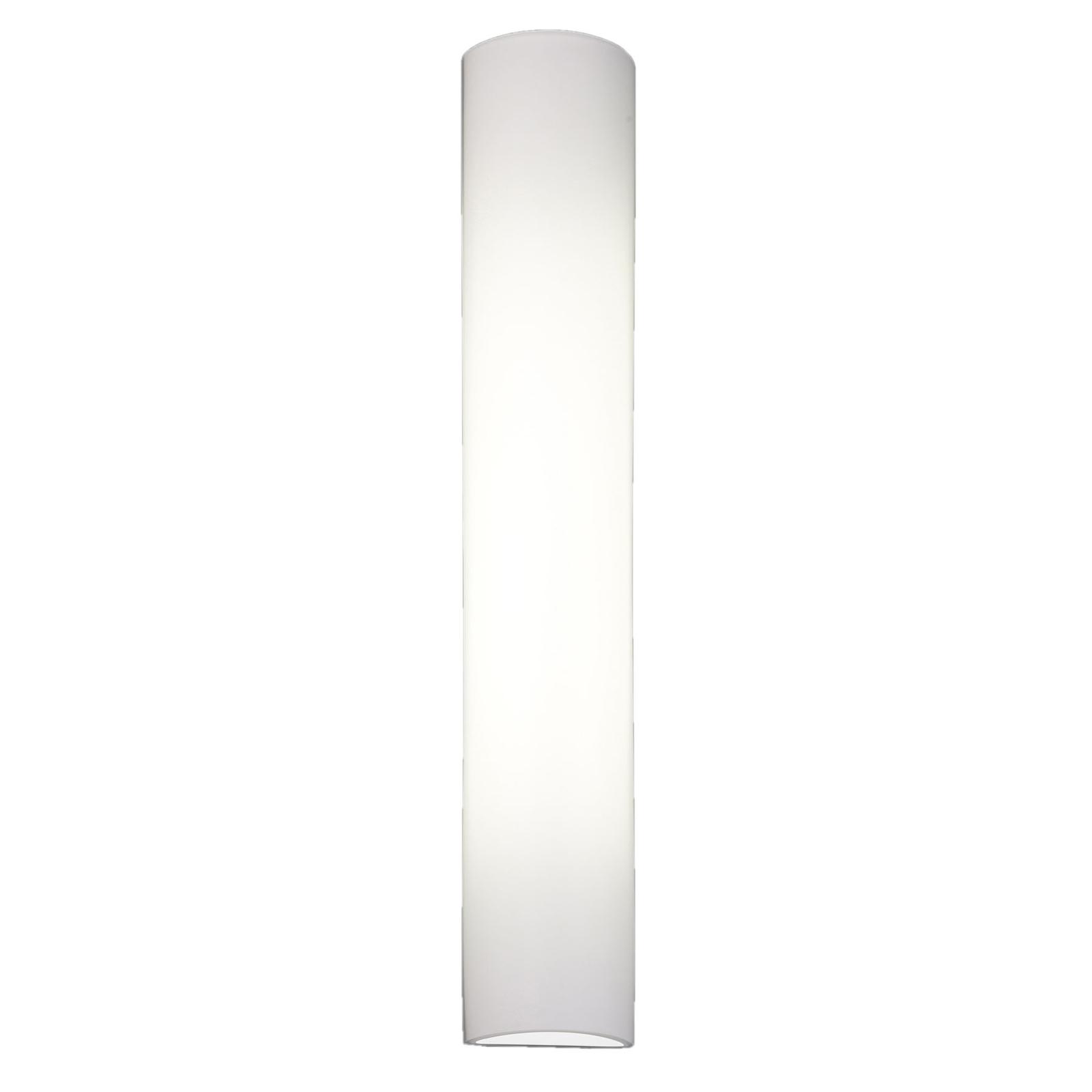 BANKAMP Cromo LED-Wandleuchte aus Glas, Höhe 54cm