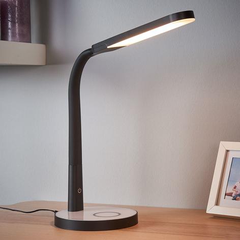 Maily - stmívatelná LED stolní lampa USB portem