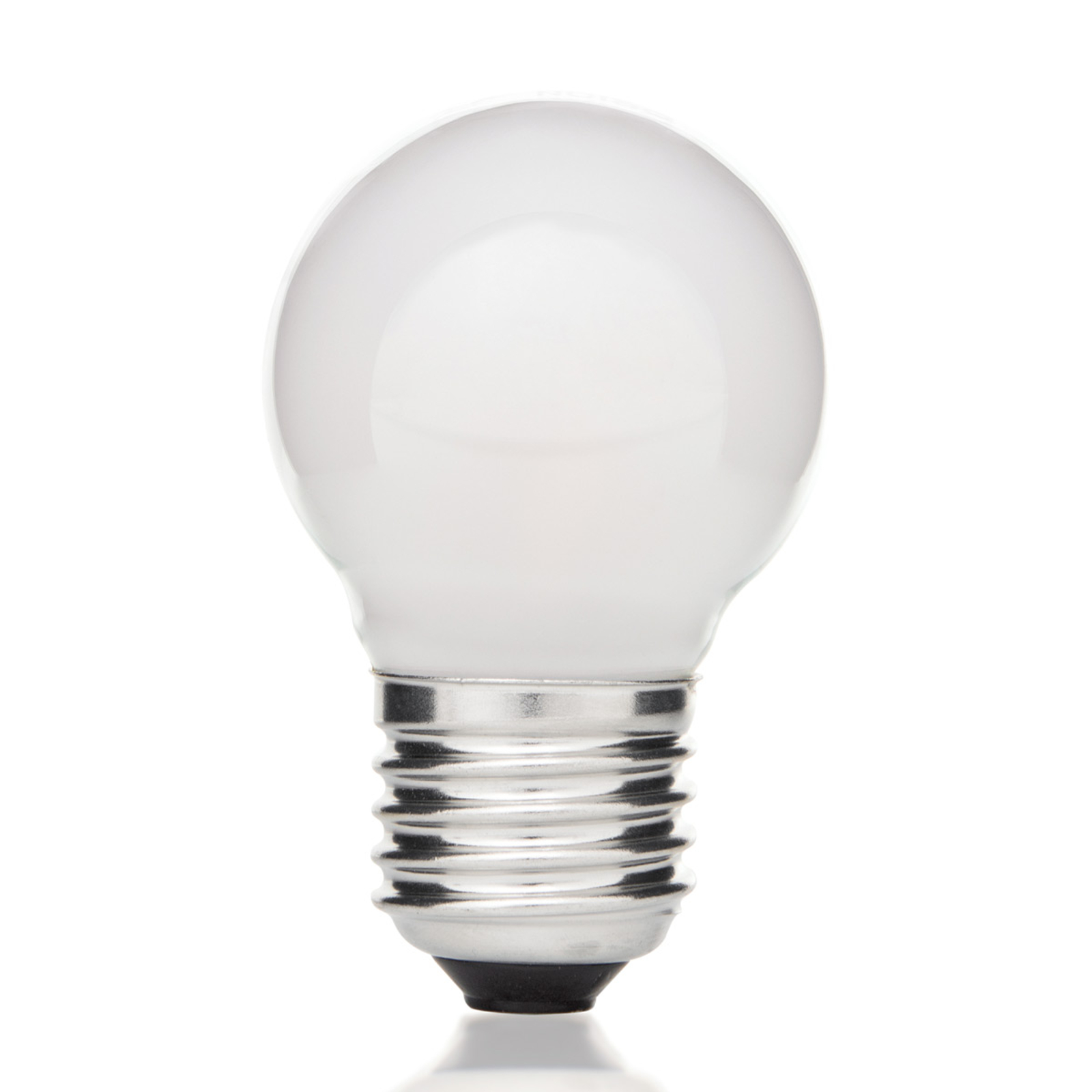 E27 4W 827 LED Tropfenlampe, innen matt