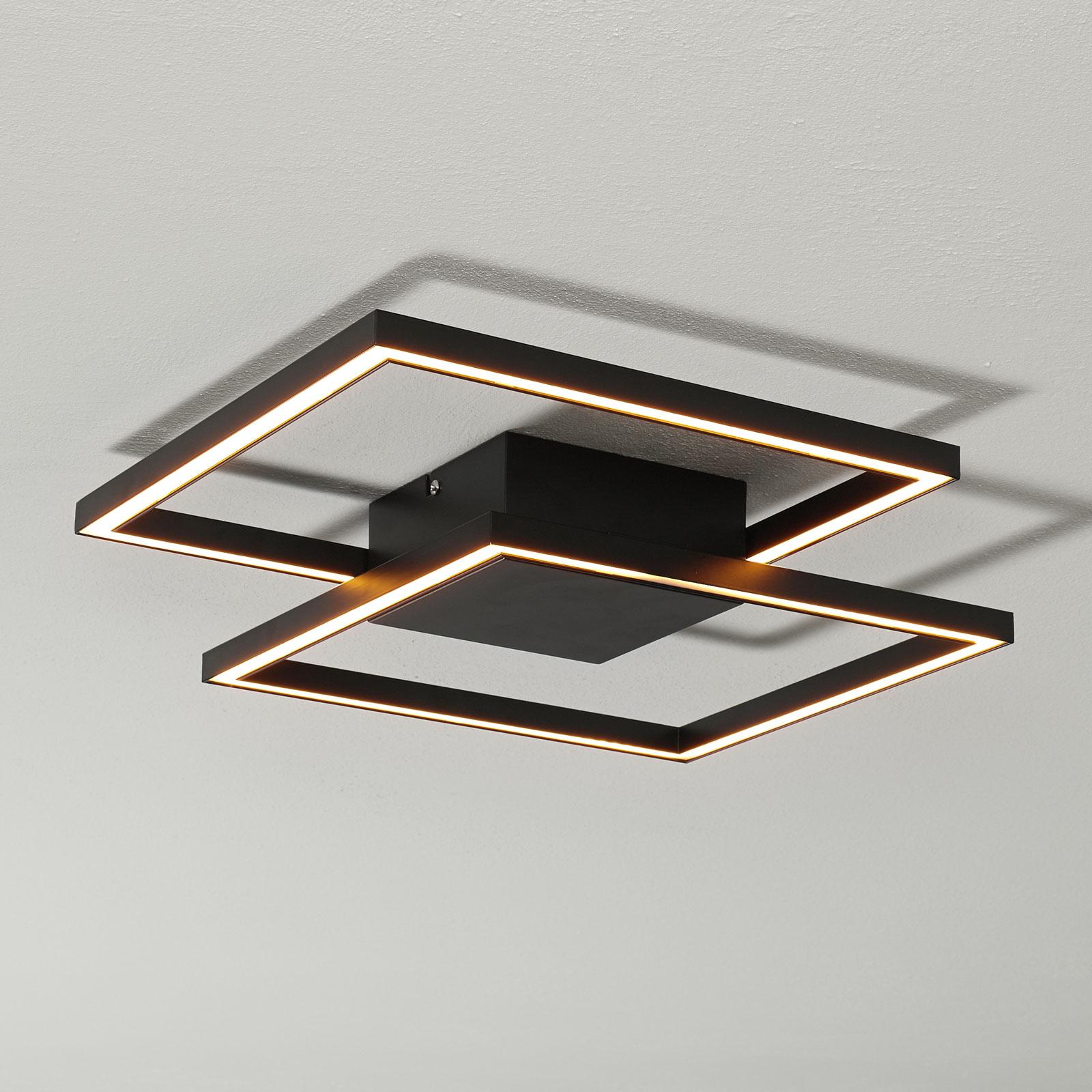 Lampa sufitowa LED Falcon, czarna