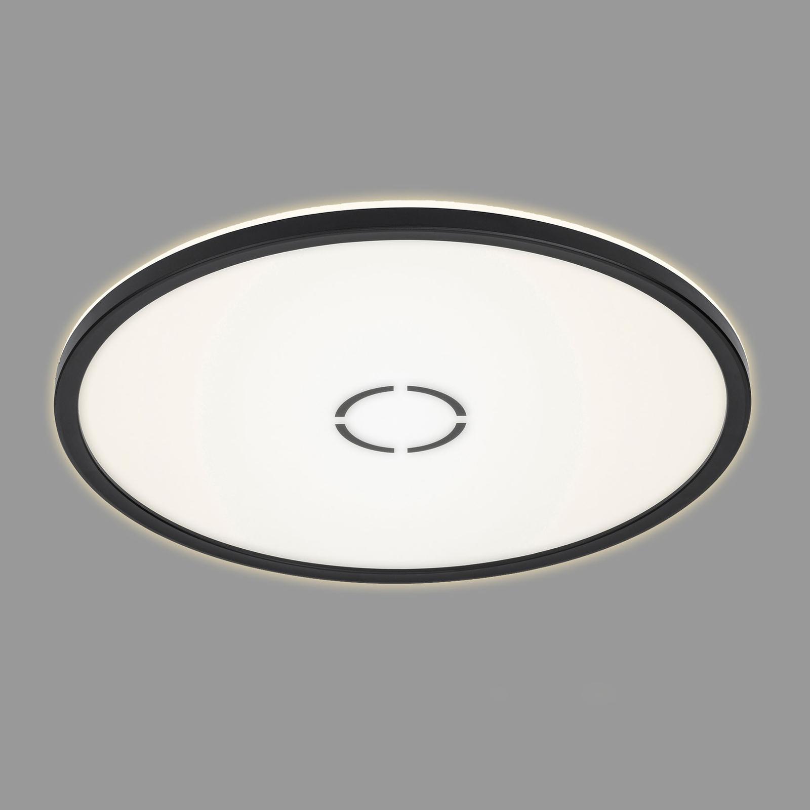 LED-Deckenleuchte Free, Ø 42 cm, schwarz