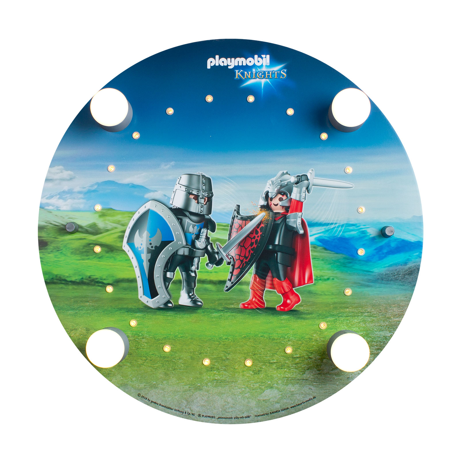 Lampa sufitowa okrągła PLAYMOBIL Knights
