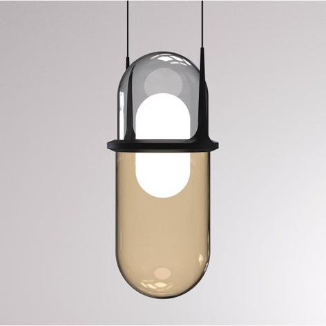 LOUM Pille lámpara colgante LED de vidrio