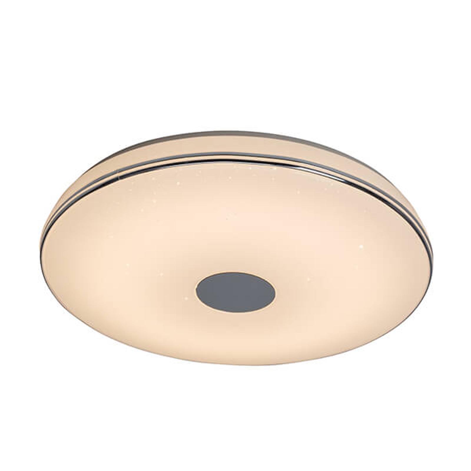 Plafón LED Mono Deco regulable, mando a distancia