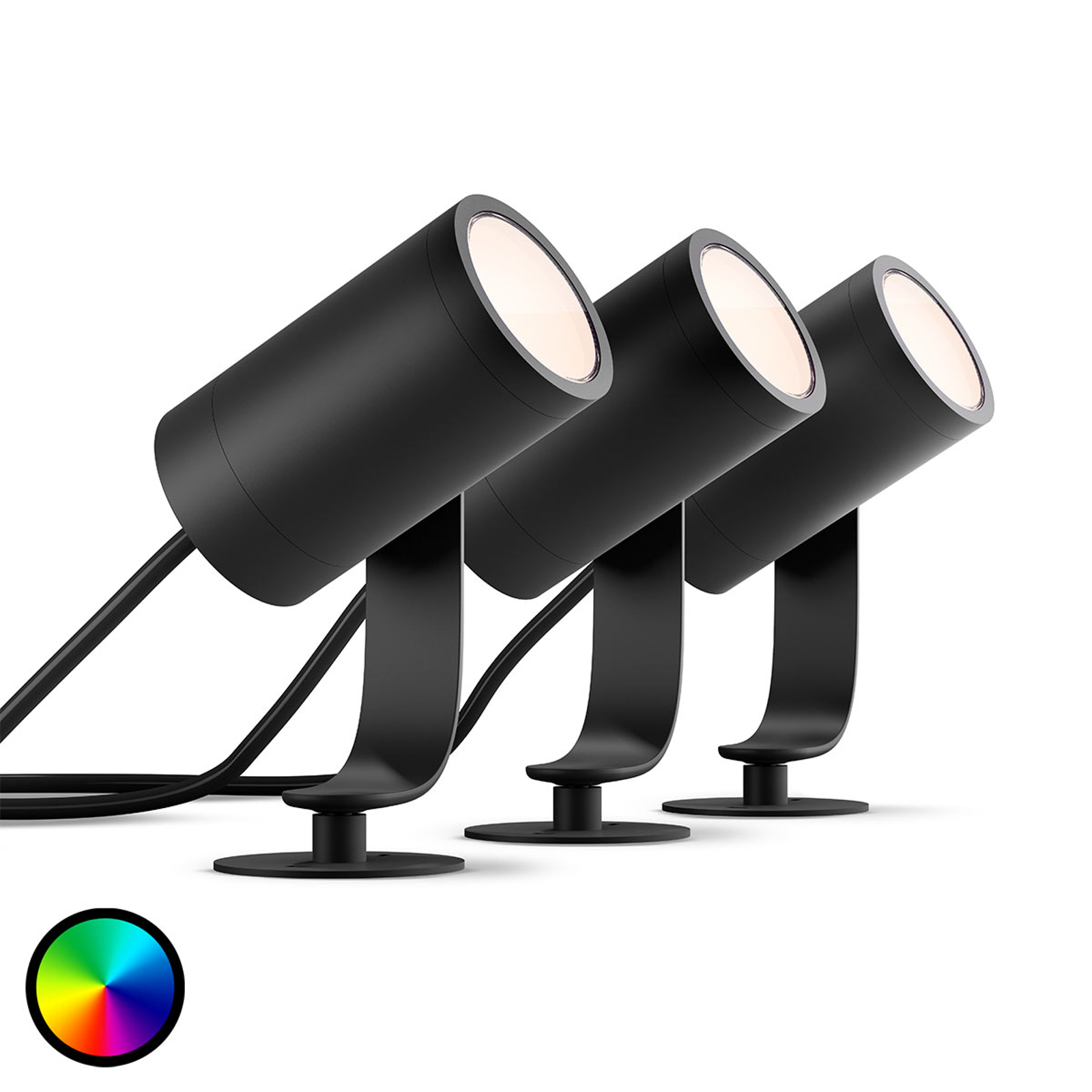 Philips Hue White+Color Ambiance Lily Spot 3er-Set
