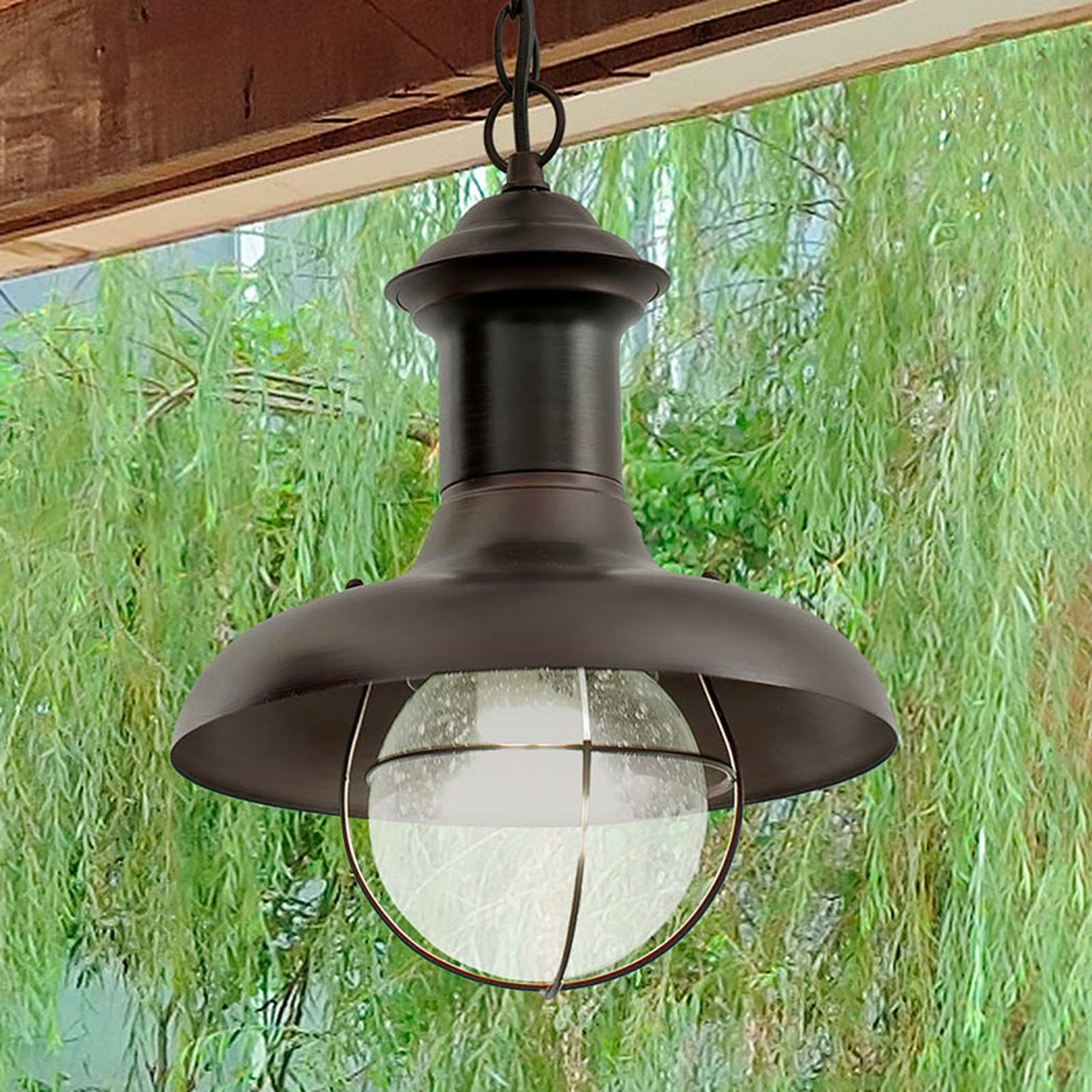 ESTORIL-P závěsné světlo pro venkovní použití
