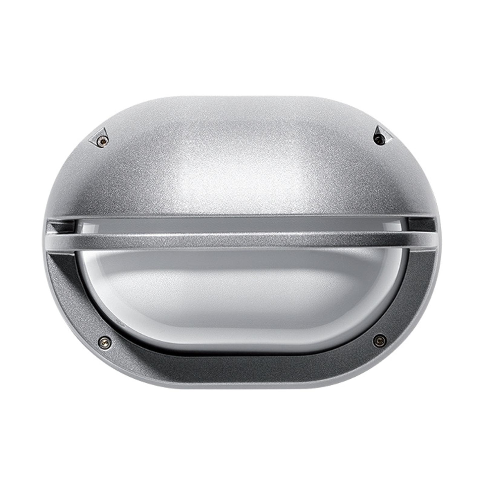 Buitenwandlamp EKO met paneel, grijs
