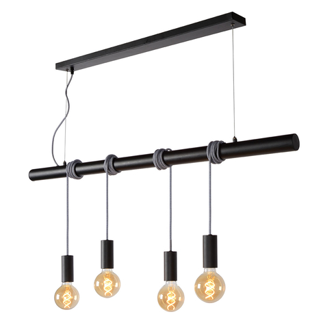 Jaime - frizzante lampada a sospensione 4 luci