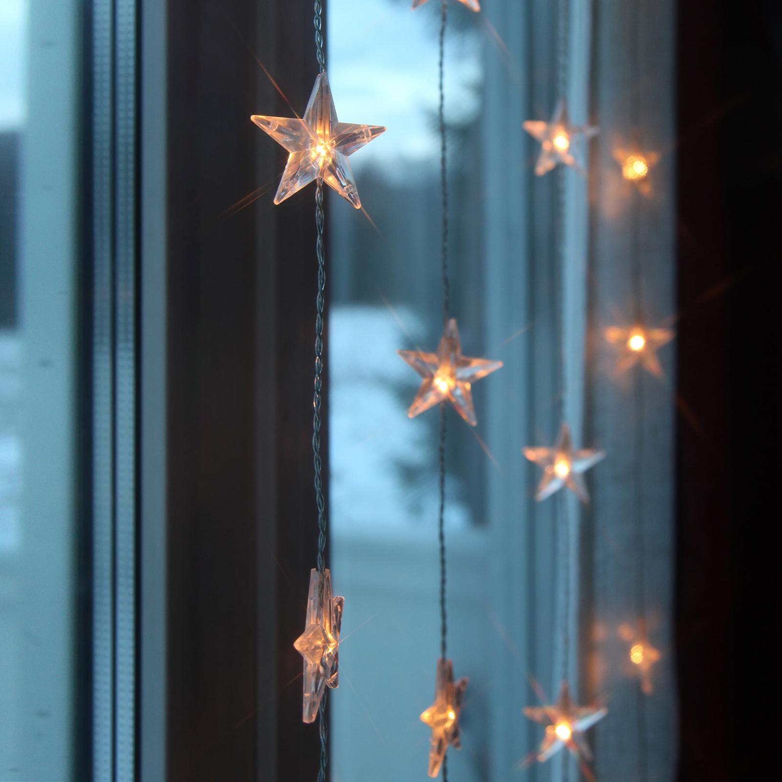 Tenda luminosa LED Star 50 luci