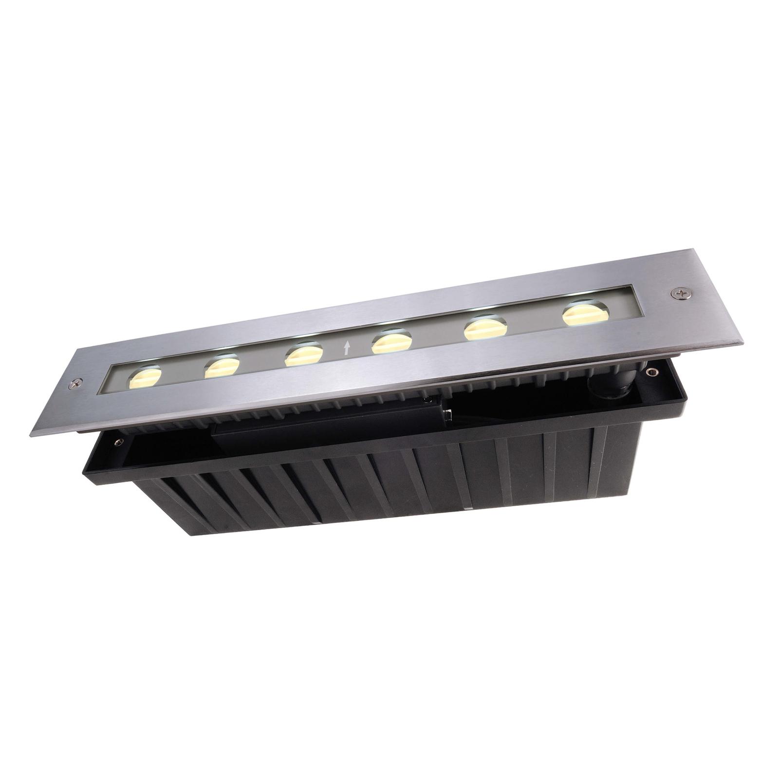 LED-lattiaspotti Jeremia 32,8 cm, lämmin valkoinen