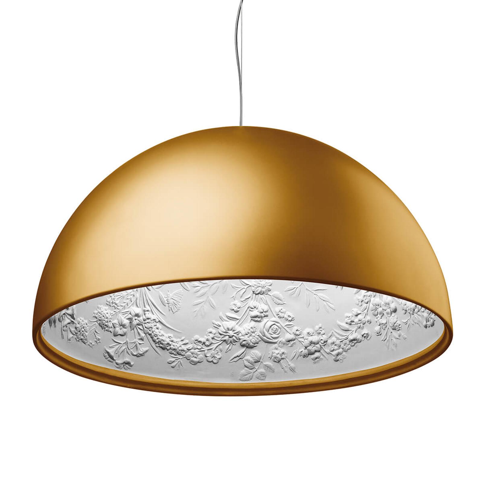 Závěsná lampa FLOS Skygarden 2, matné zlato