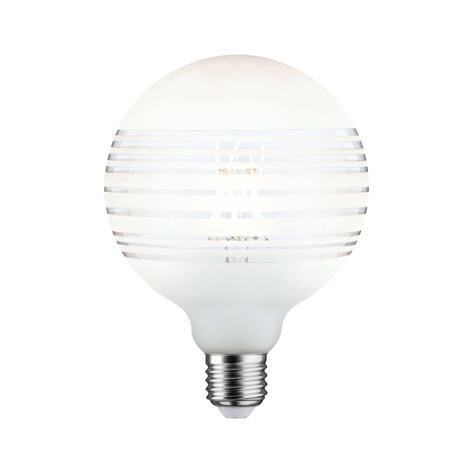Paulmann E27 Globe LED 4,5W anello righe