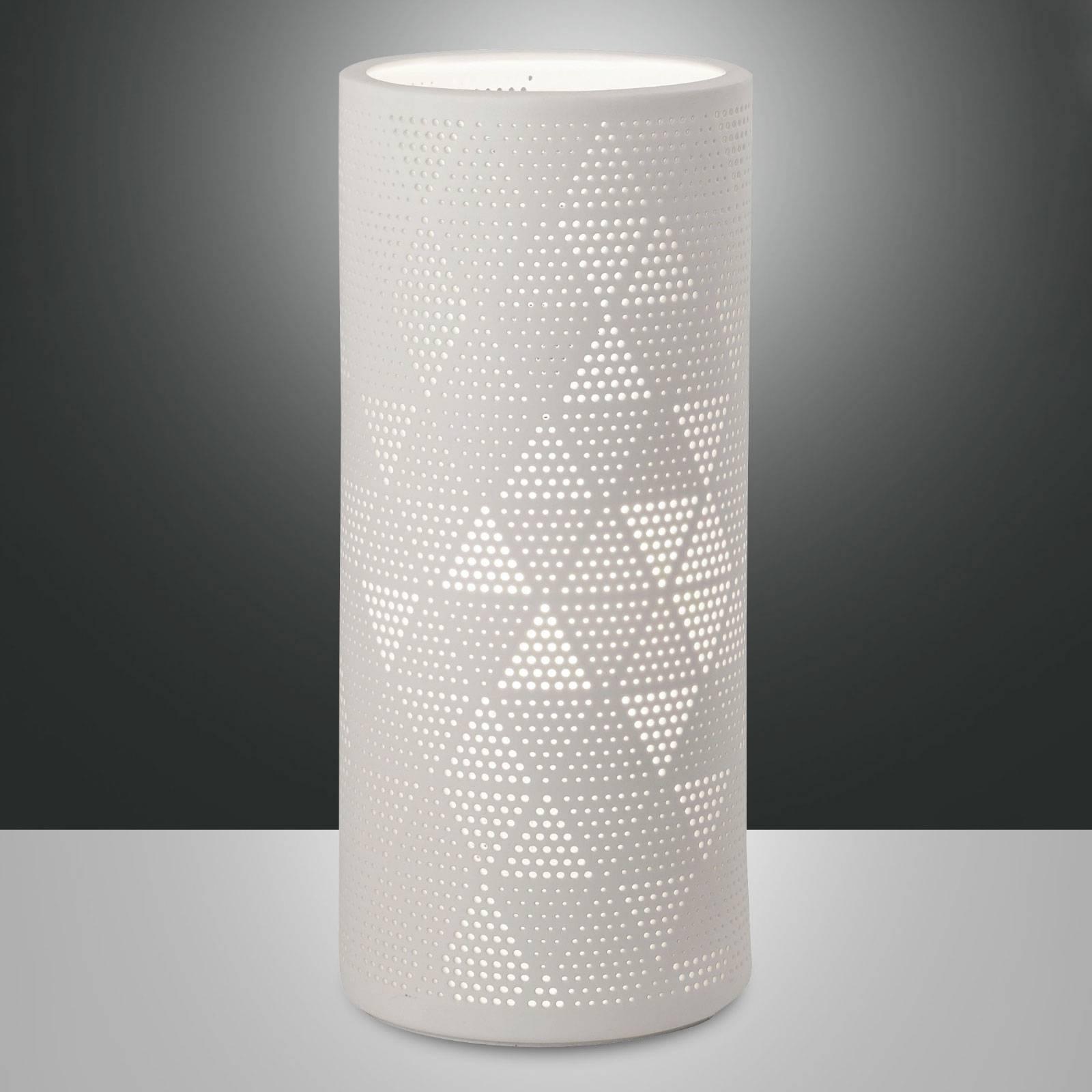 Tafellamp Micol van keramiek, hoogte 28,5 cm