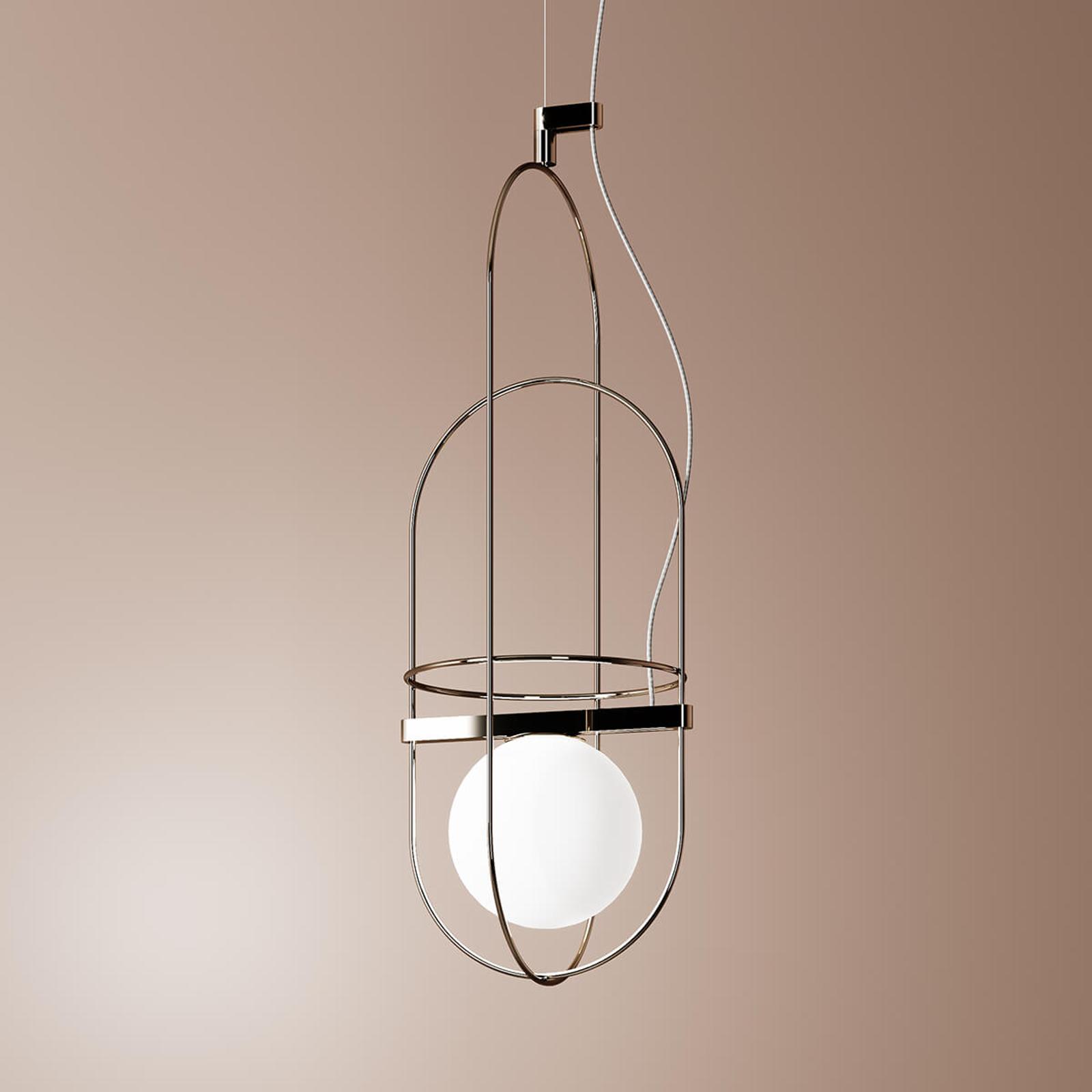 Fontana Arte Setareh - LED Hanglamp in Chroom