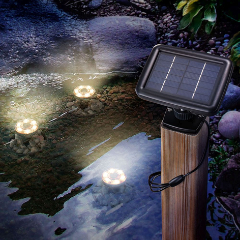 LED-solar-onderwaterspot Splash per 3