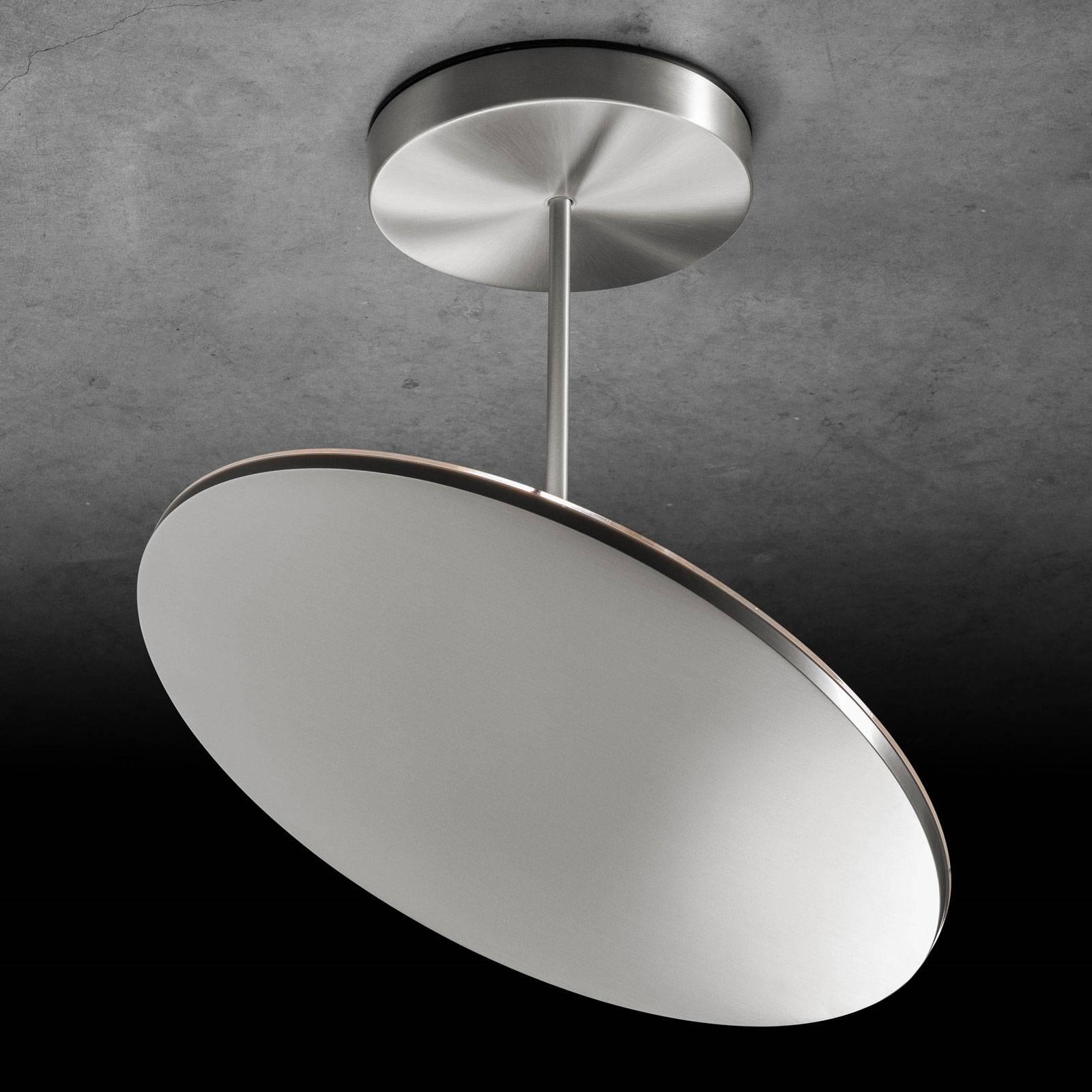 Holtkötter Plano XL LED plafondlamp mat alu