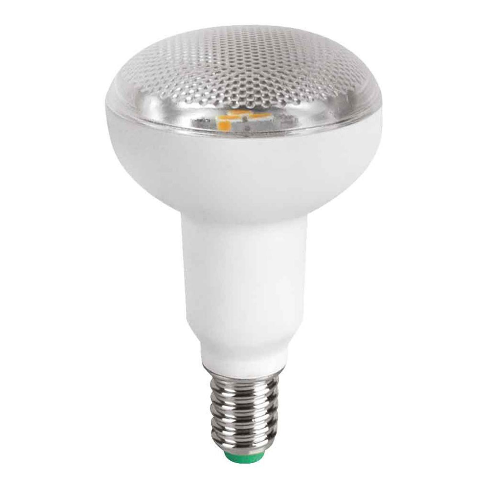 LED-reflektor E14 R50 3,5W, varmhvid