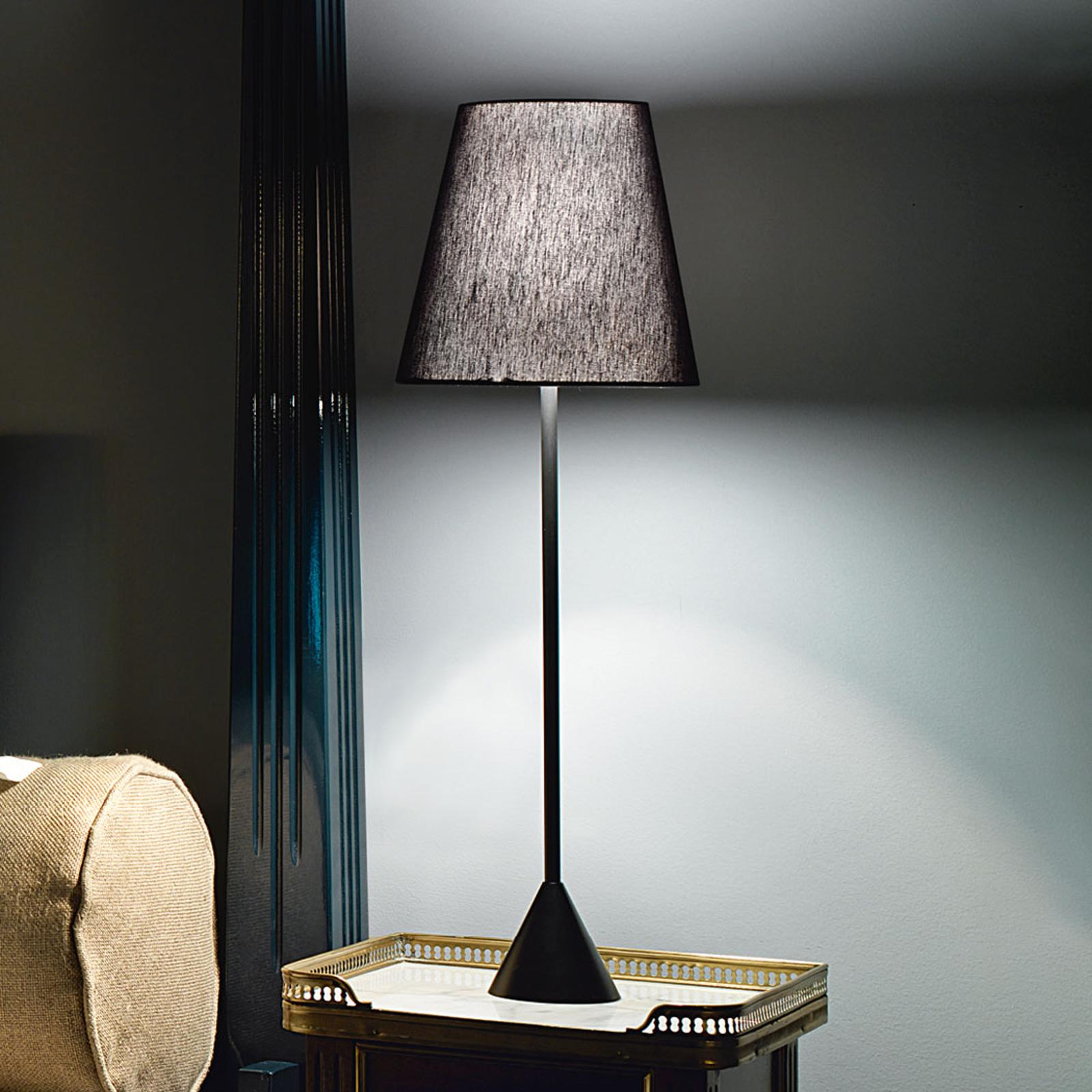 Modo Luce Lucilla tafellamp Ø 24cm zwart