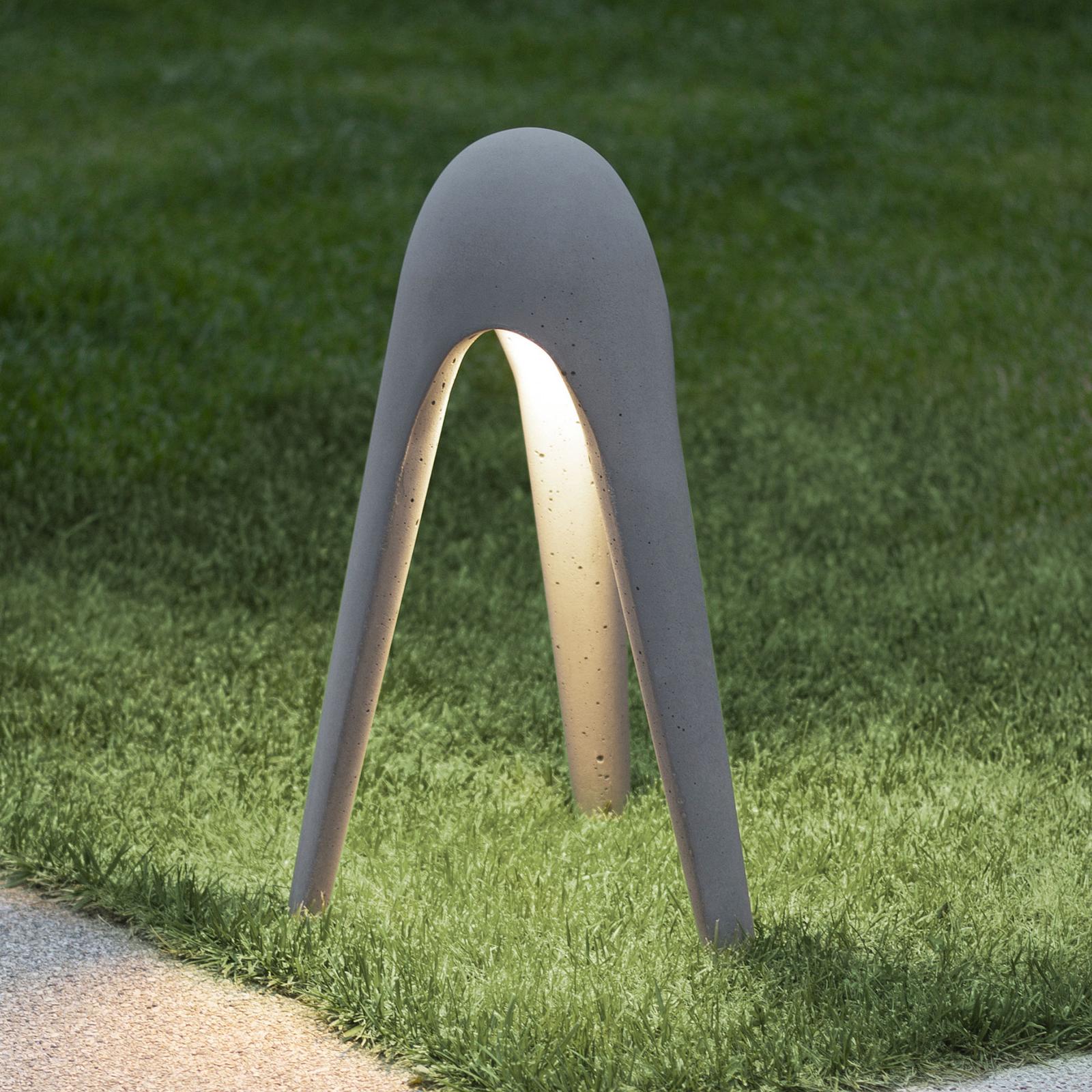 Martinelli Luce Cyborg LED-Wegeleuchte, grau