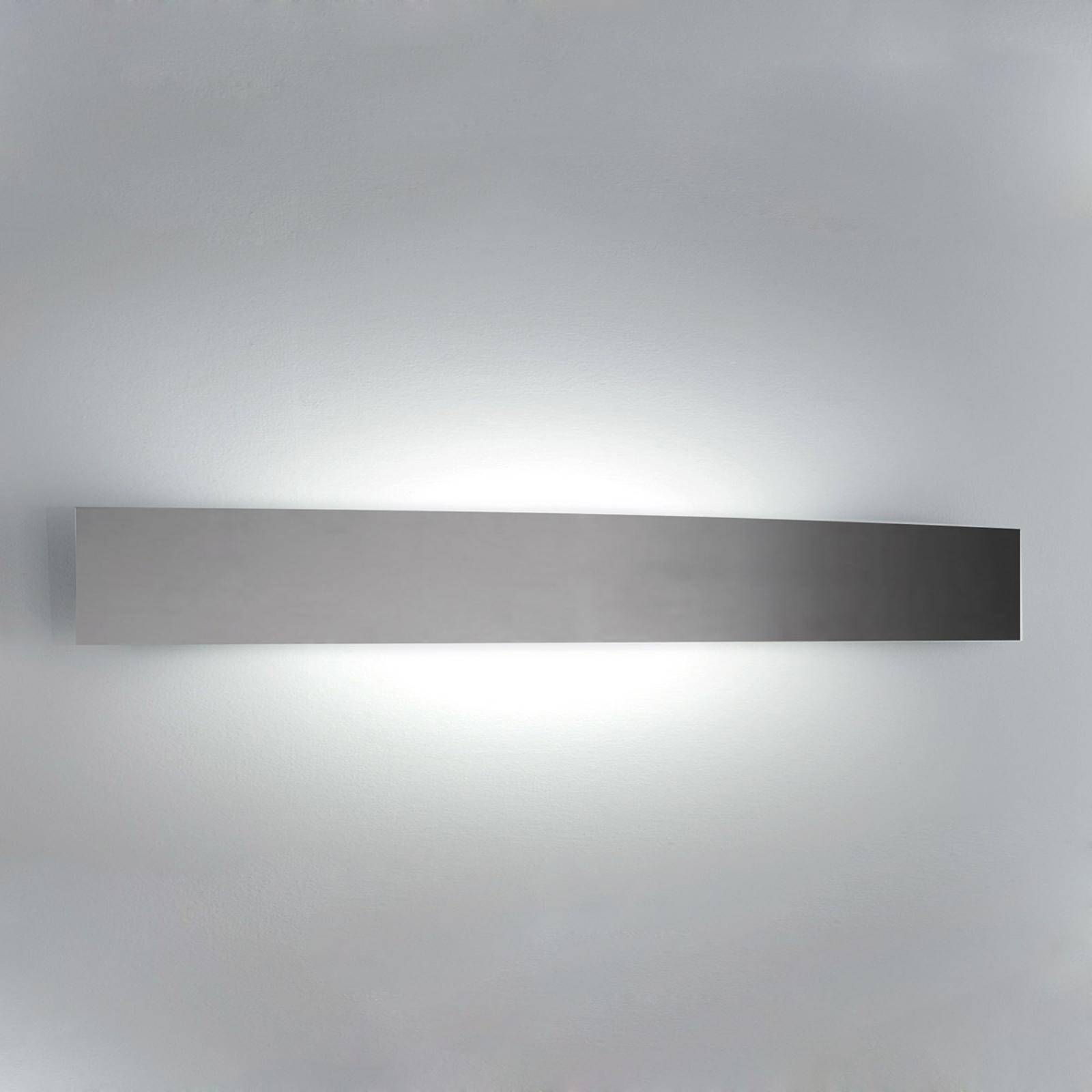 Mooie wandlamp RIGA, 56 cm, nikkel