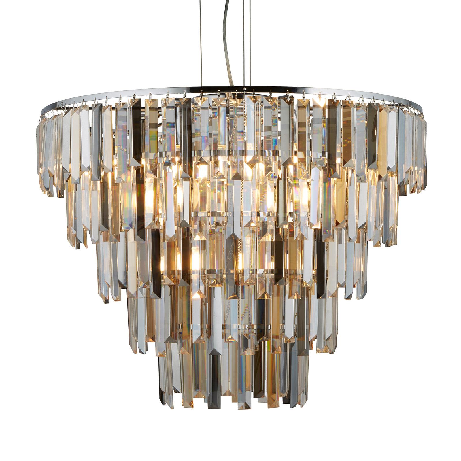 Hanglamp Clarissa met kristallen