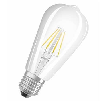 OSRAM LED žárovka E27 6,5W ST64 Rustika 827