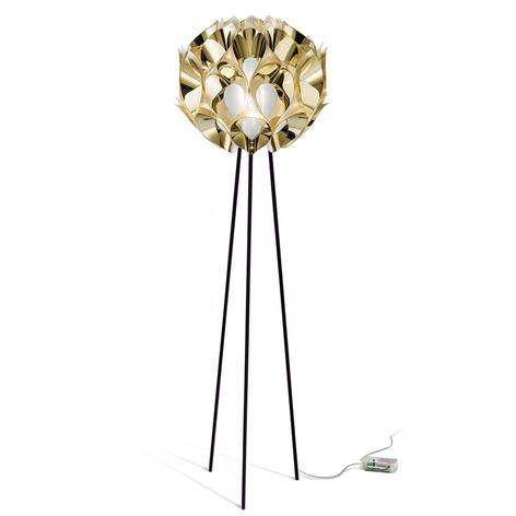 Slamp Flora - Designer-Stehlampe, gold