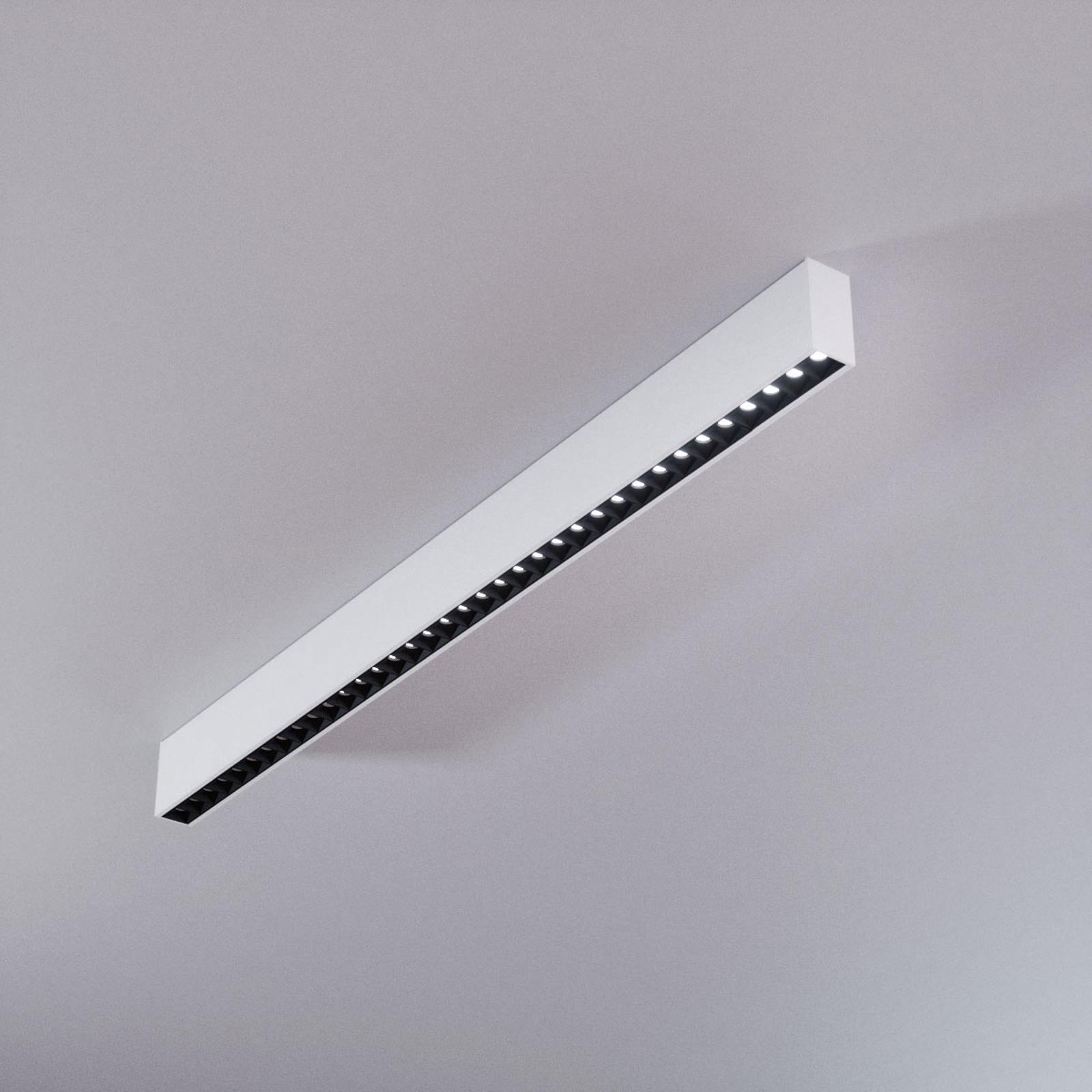 Plafonnier LED de bureau Jolinda, à une rangée