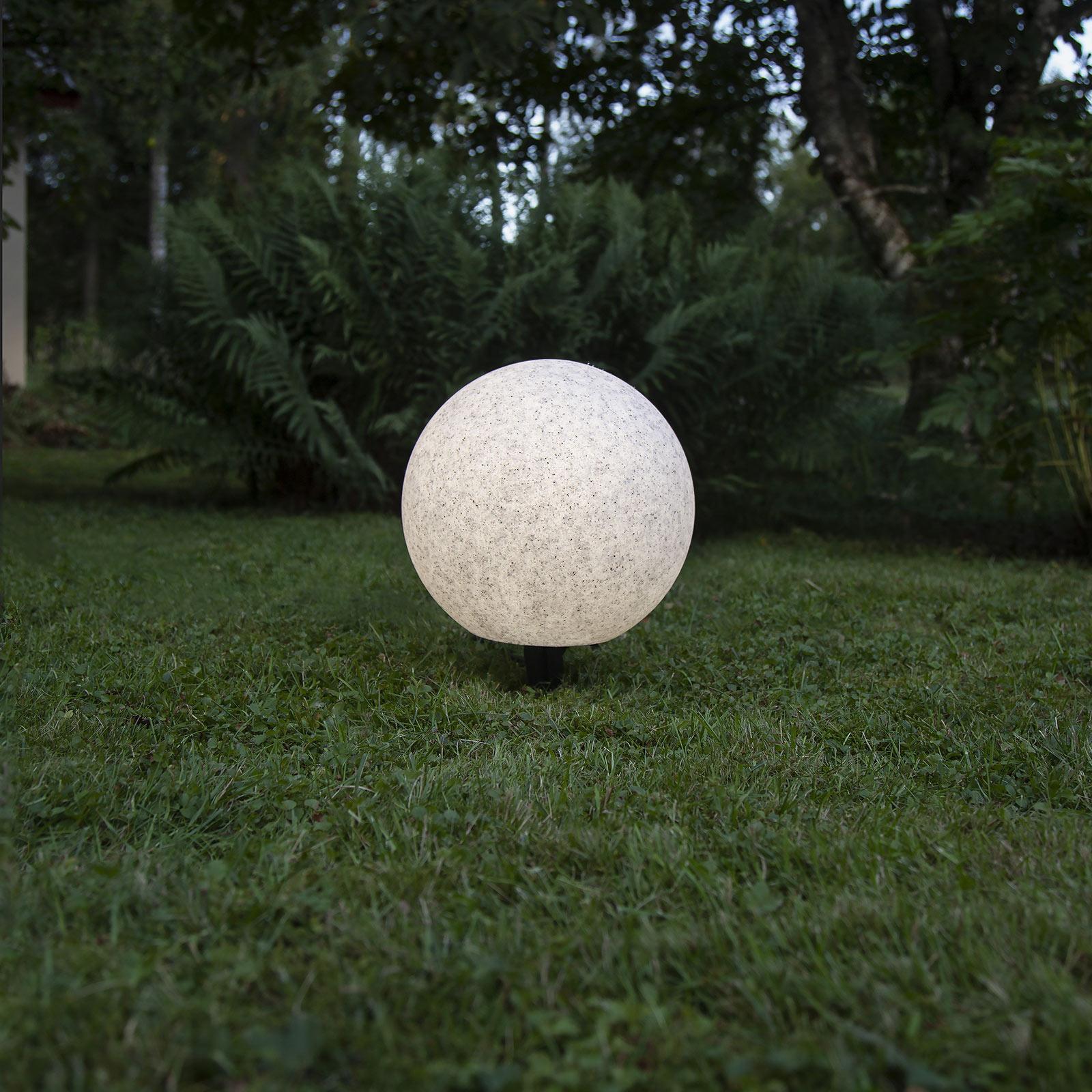 Terassivalaisin Gardenlight, pallo., Ø 30 cm