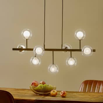 Altais LED-hængelampe, 9 lyskilder, ikke dæmpbar