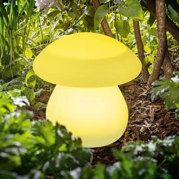 Lámpara decorativa LED solar Smart Mushroom