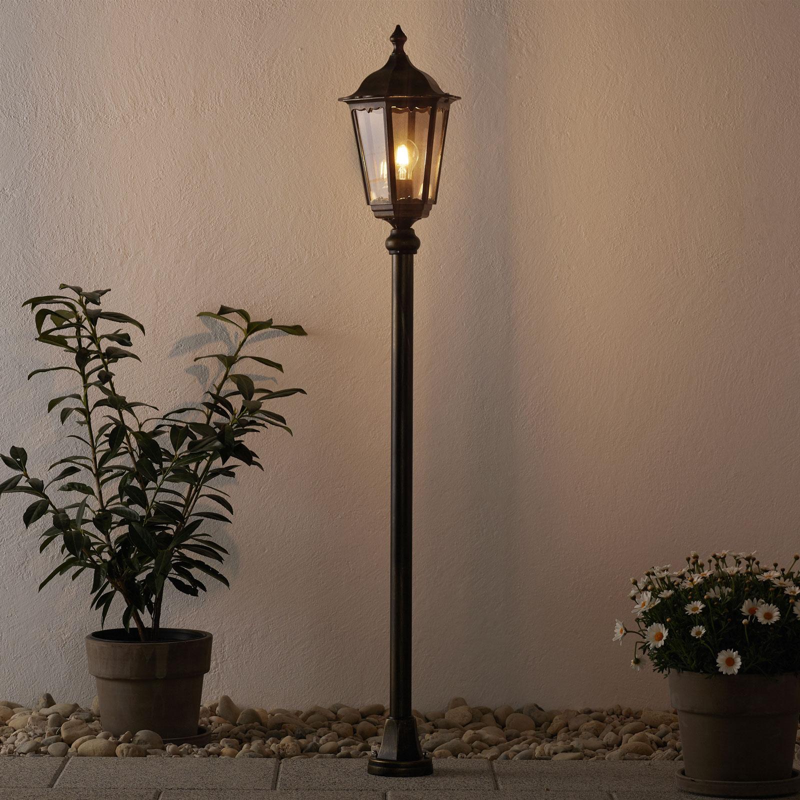 Borne lumineuse Fabio traditionnelle 140 cm