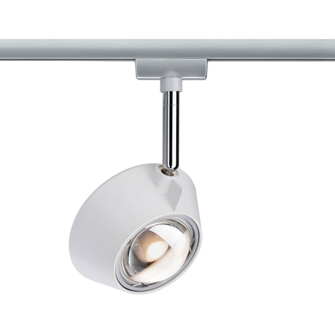 Paulmann URail spot LED Sabik chromé mat, dimmable