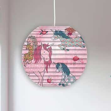 Lámpara colgante 4120606 con diseño unicornio