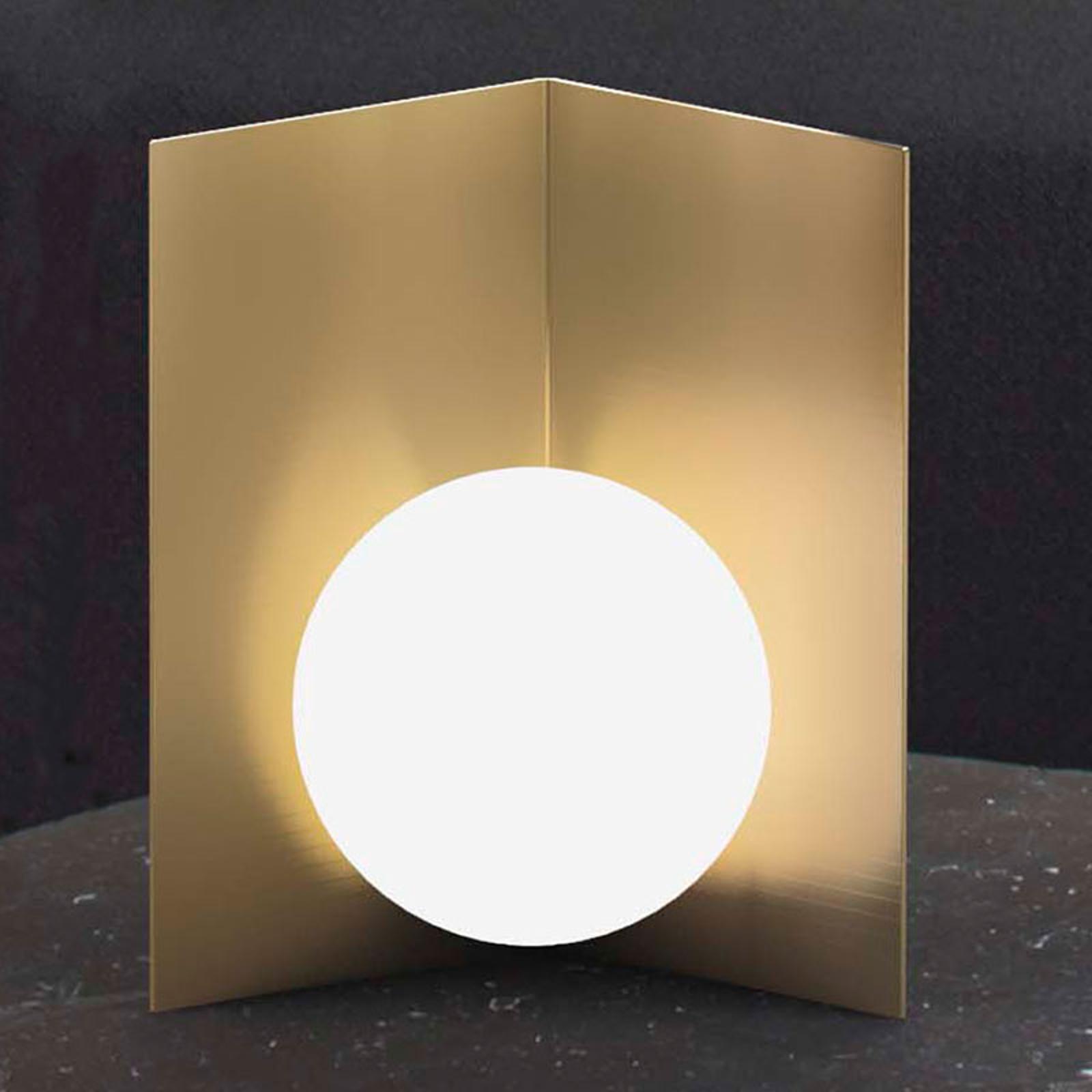 Tafellamp Balance staand goud gesatineerd