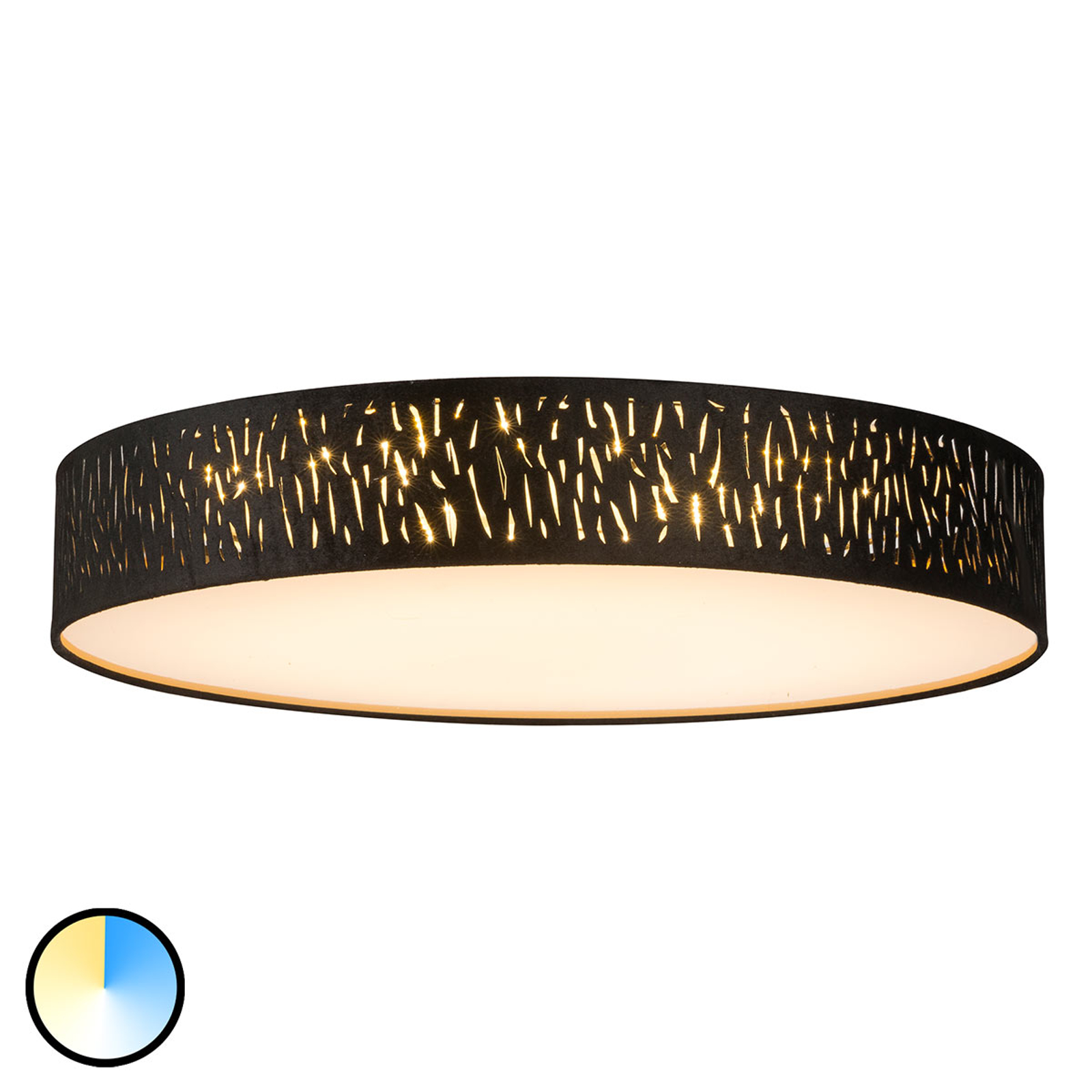 Lampa sufitowa LED Tuxon z funkcją Tunable White