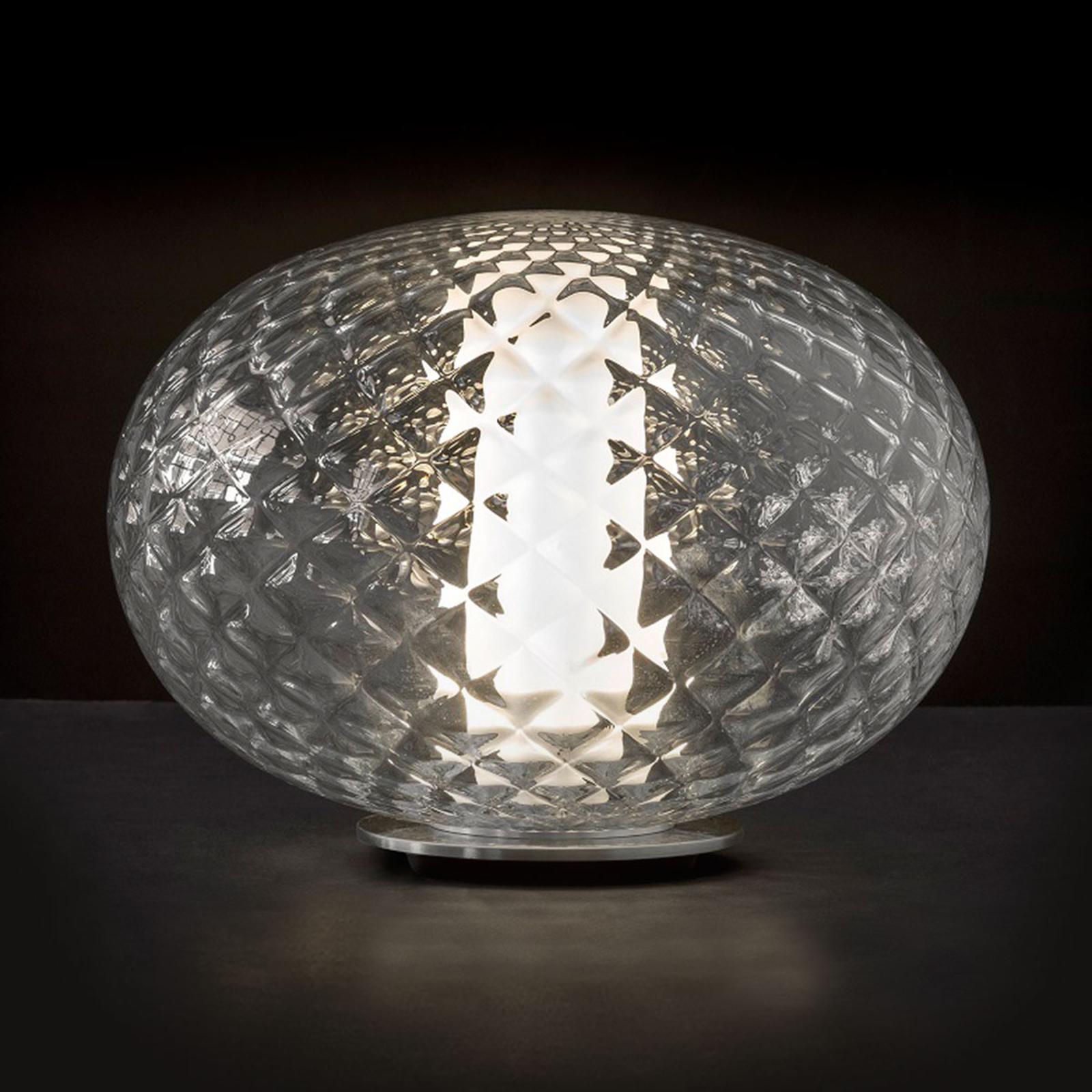 Oluce Recuerdo - LED-Tischleuchte aus Glas