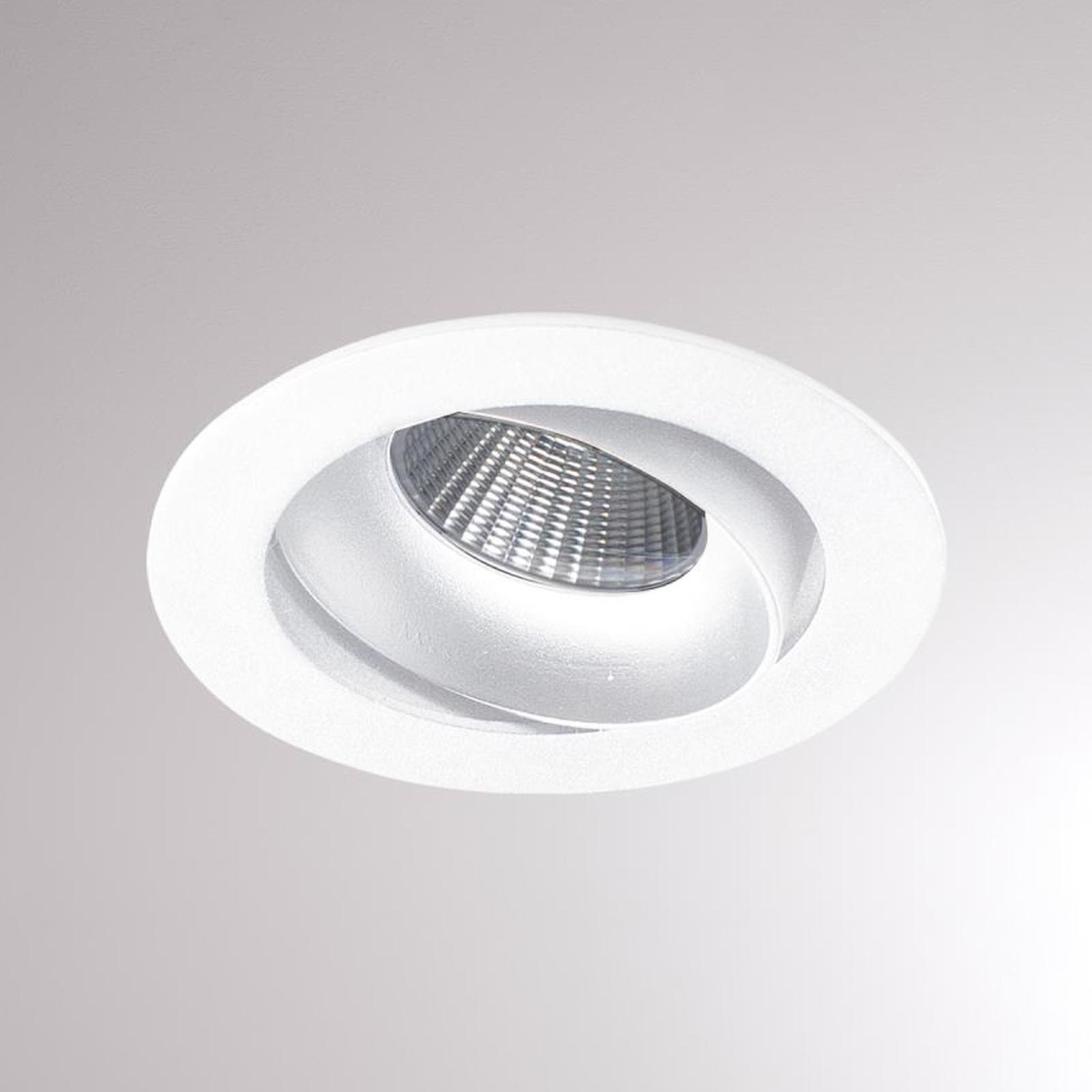 Kalio LED-Einbaulampe rund 2.700K 24° weiß