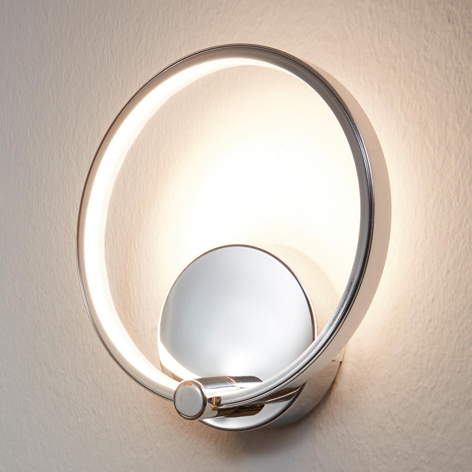 Ringvormige LED-wandlamp Lasana